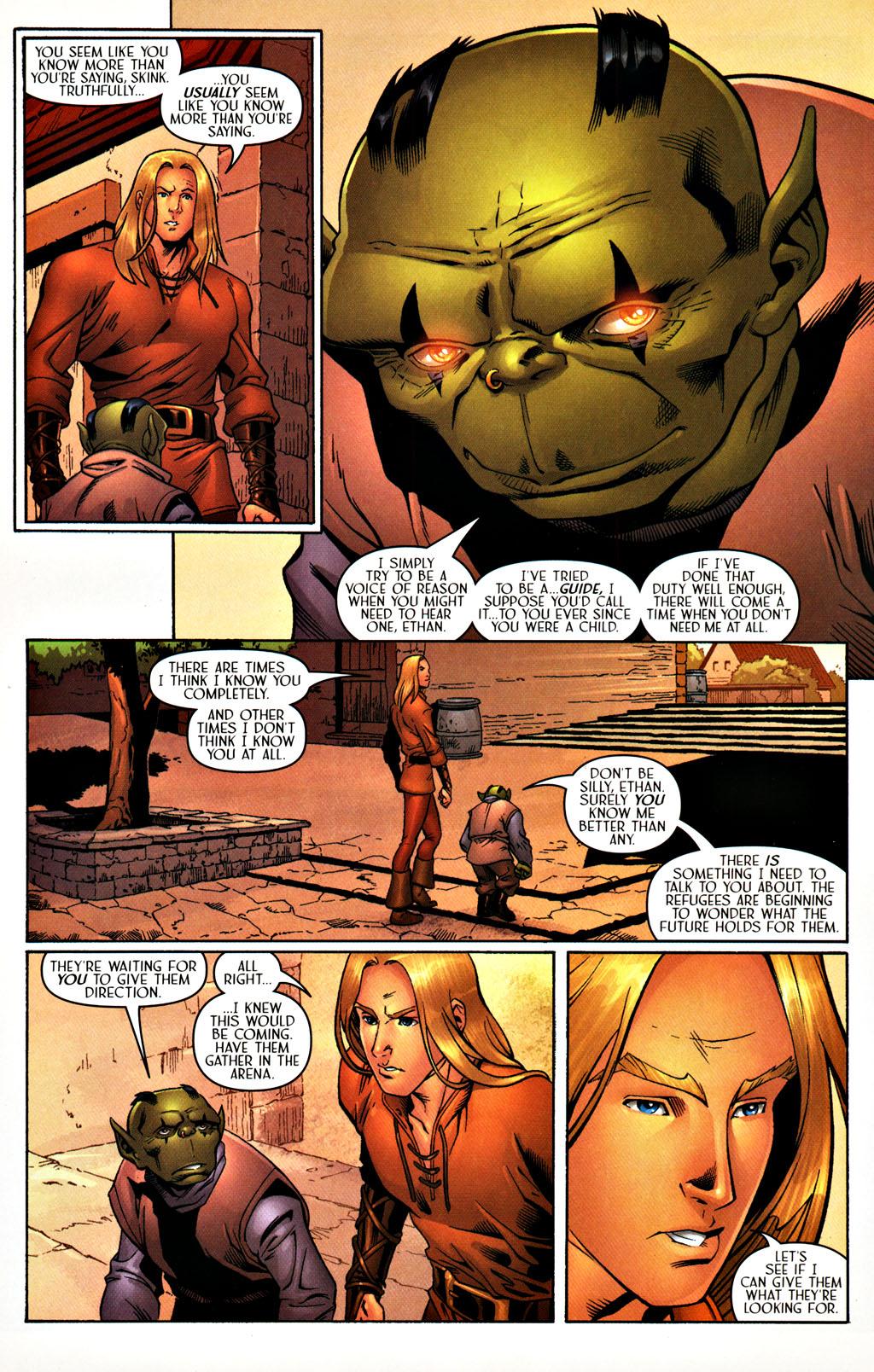 Read online Scion comic -  Issue #27 - 12