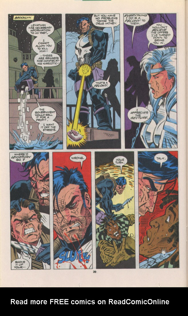 Read online Silver Sable and the Wild Pack comic -  Issue #10 - 17