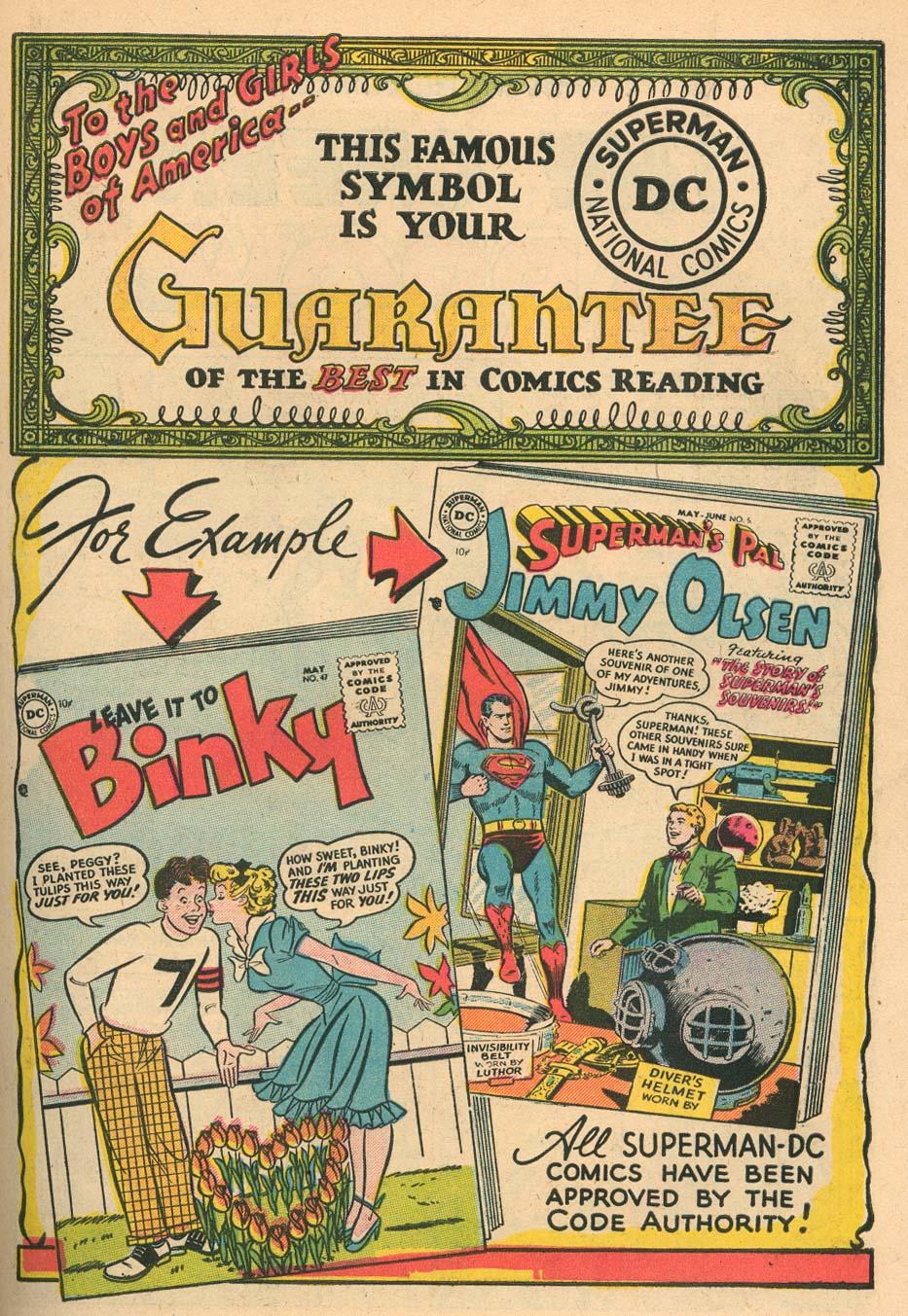 Read online Adventure Comics (1938) comic -  Issue #212 - 27