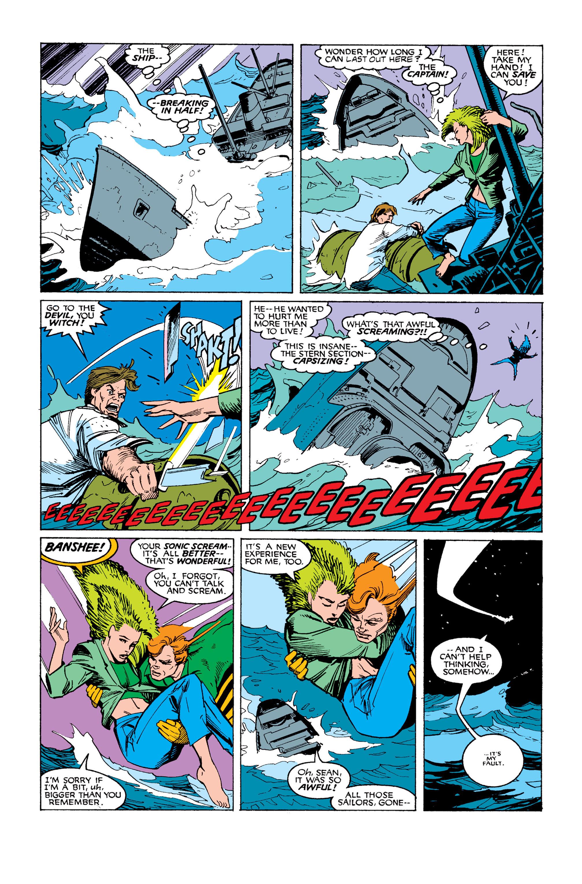 Read online Uncanny X-Men (1963) comic -  Issue #253 - 18