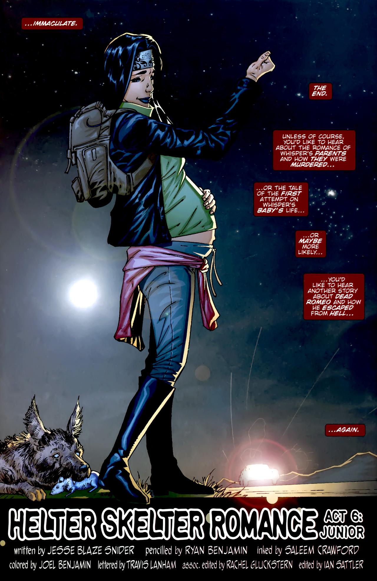 Read online Dead Romeo comic -  Issue #6 - 22