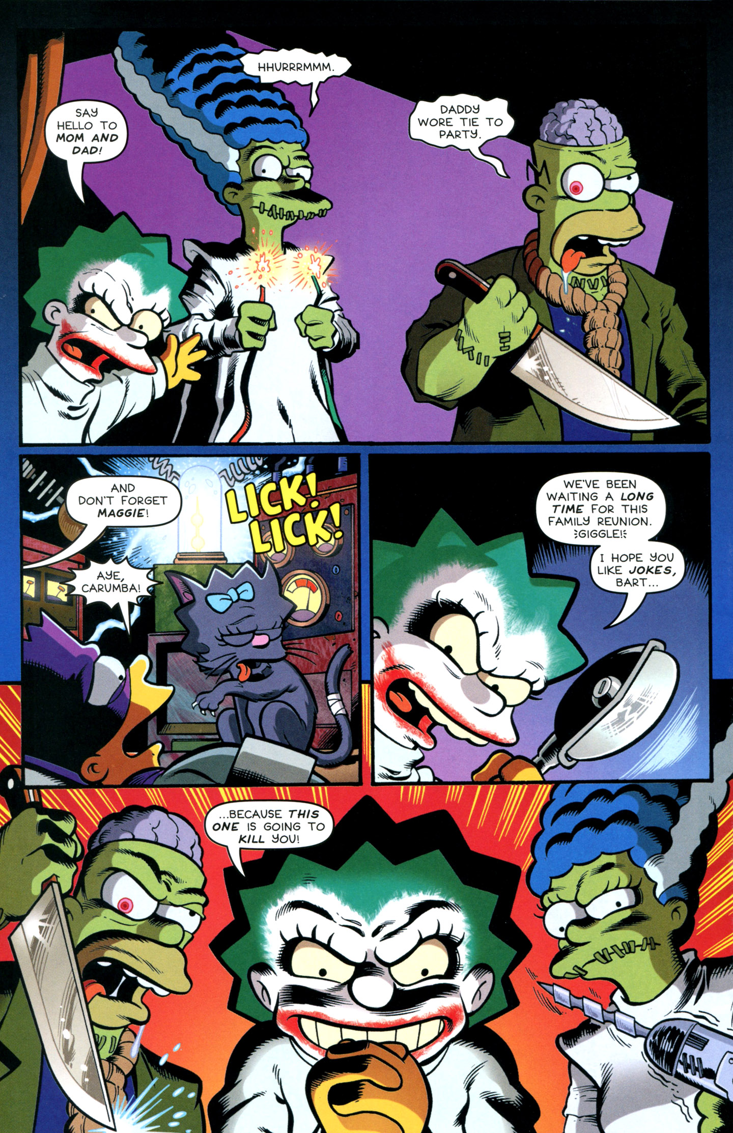 Read online Treehouse of Horror comic -  Issue #18 - 38