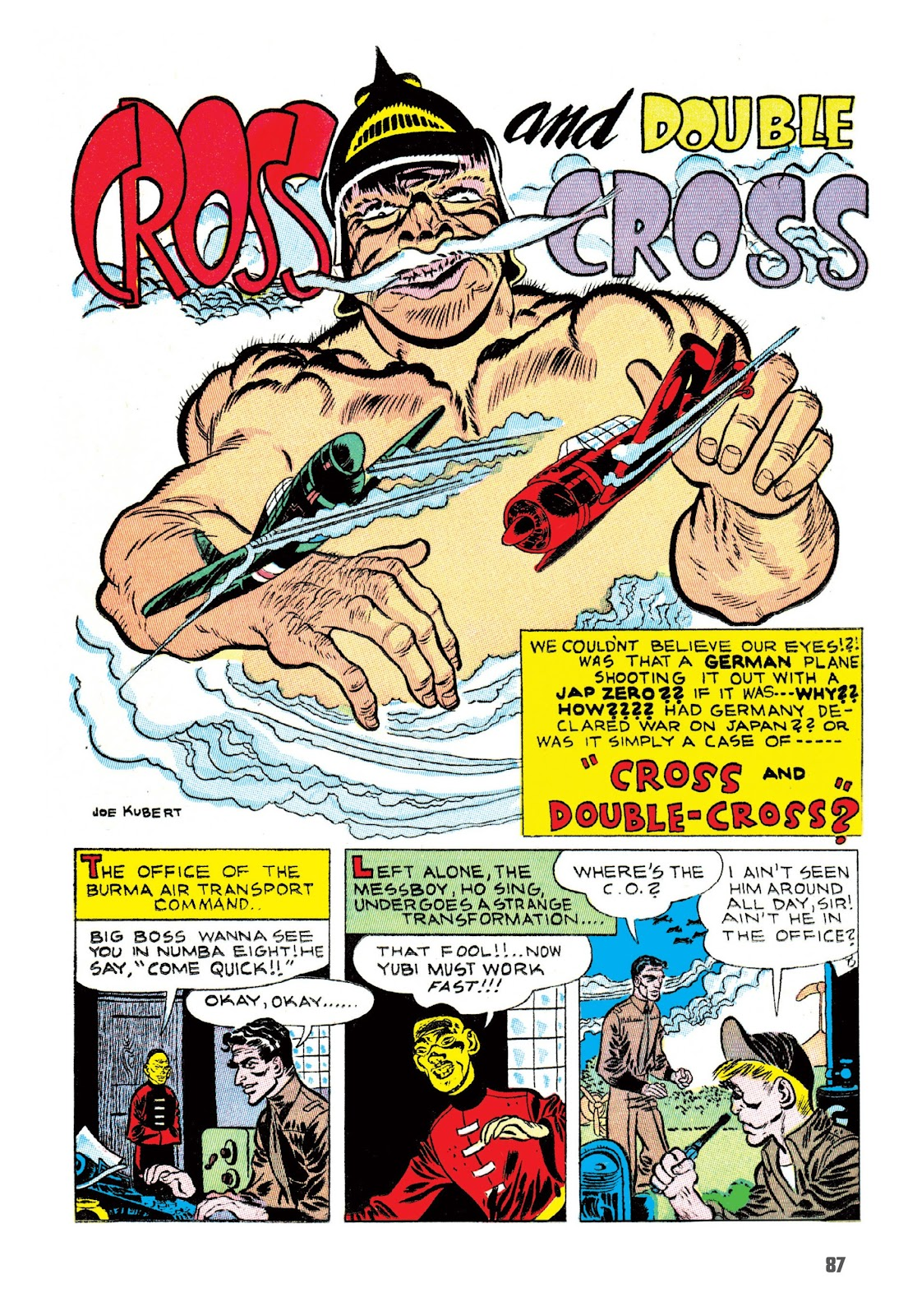 Read online The Joe Kubert Archives comic -  Issue # TPB (Part 1) - 98