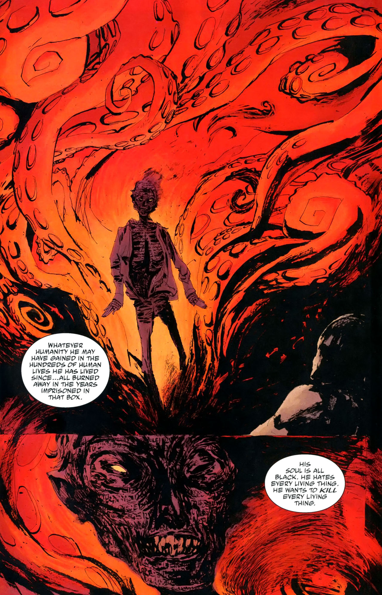 Read online Abe Sapien: The Drowning comic -  Issue #5 - 16