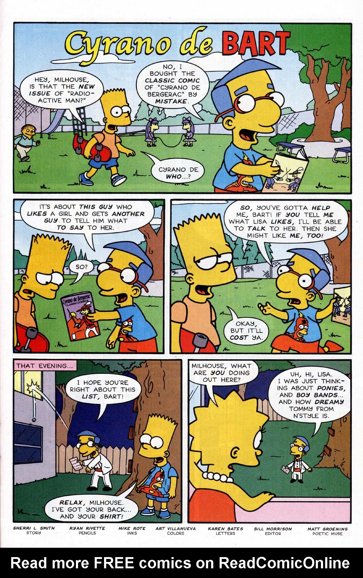 Read online Simpsons Comics Presents Bart Simpson comic -  Issue #9 - 22