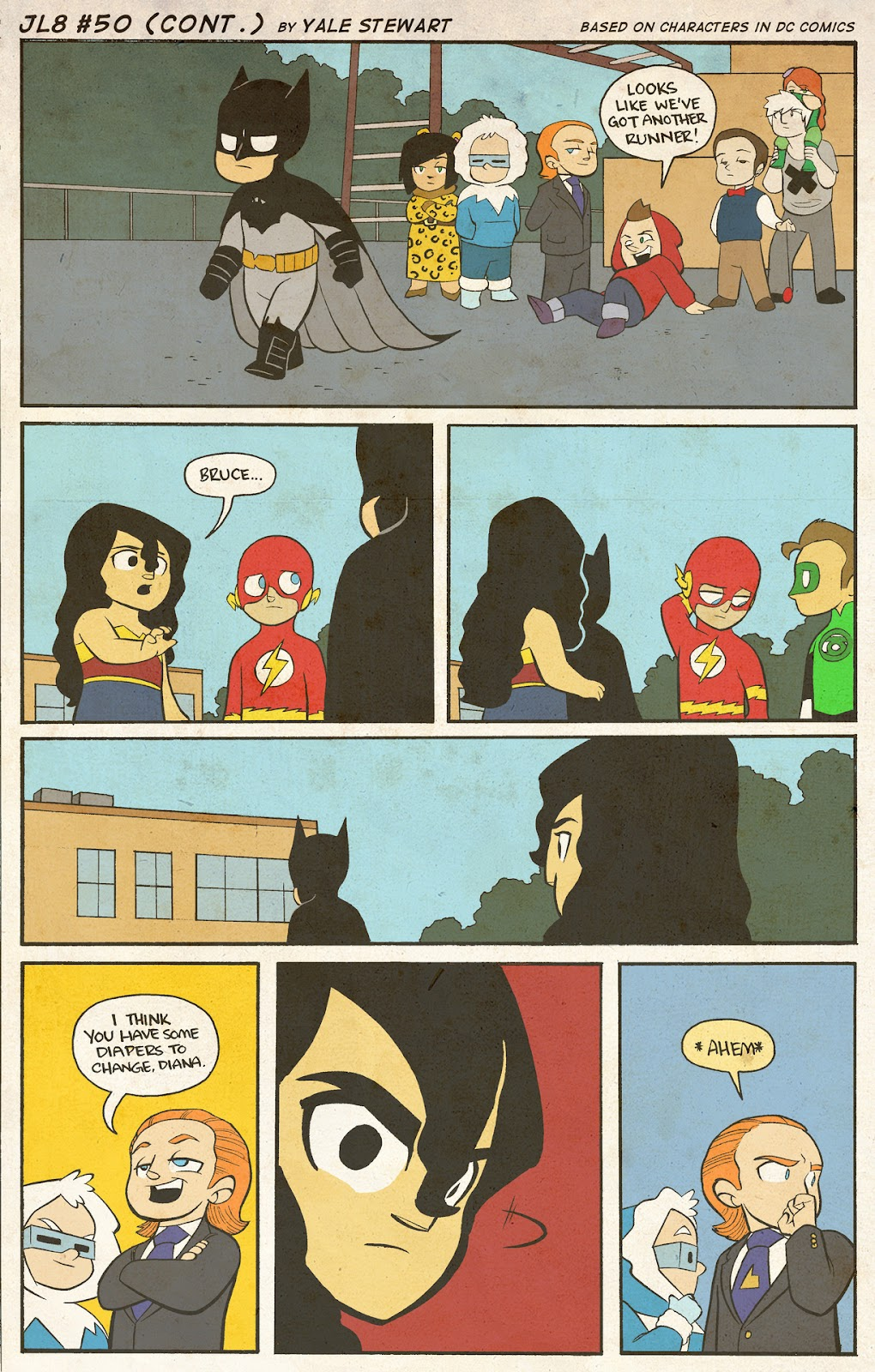 Read online JL8 – The Complete Collection comic -  Issue # TPB (Part 1) - 27