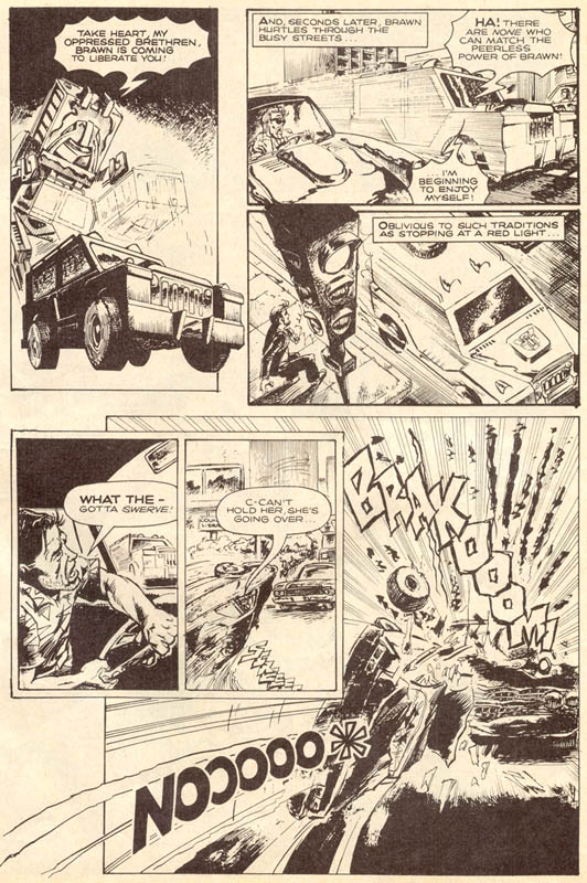 The Transformers (UK) 309 Page 16