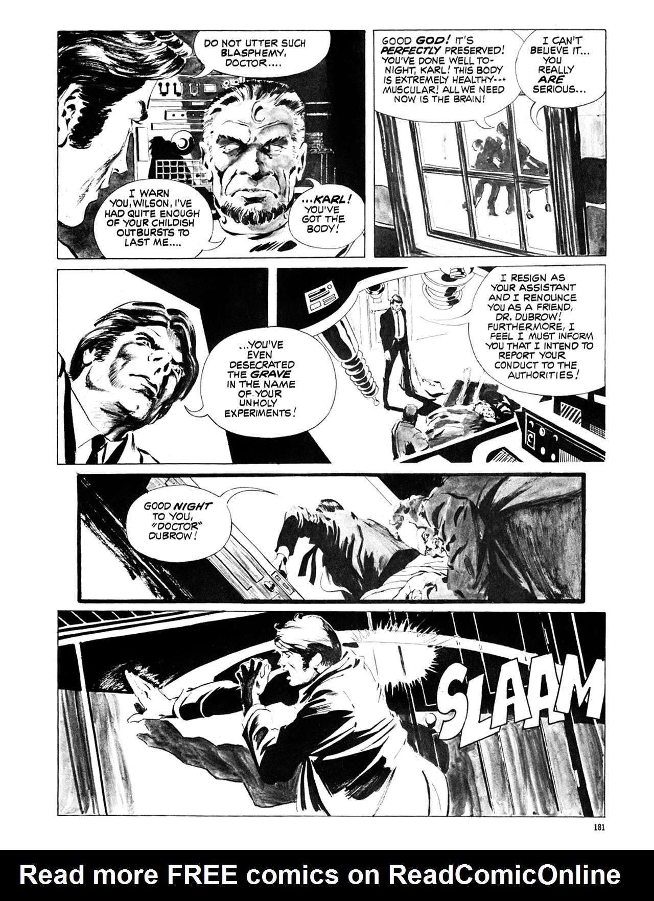 Read online Eerie Archives comic -  Issue # TPB 6 - 181