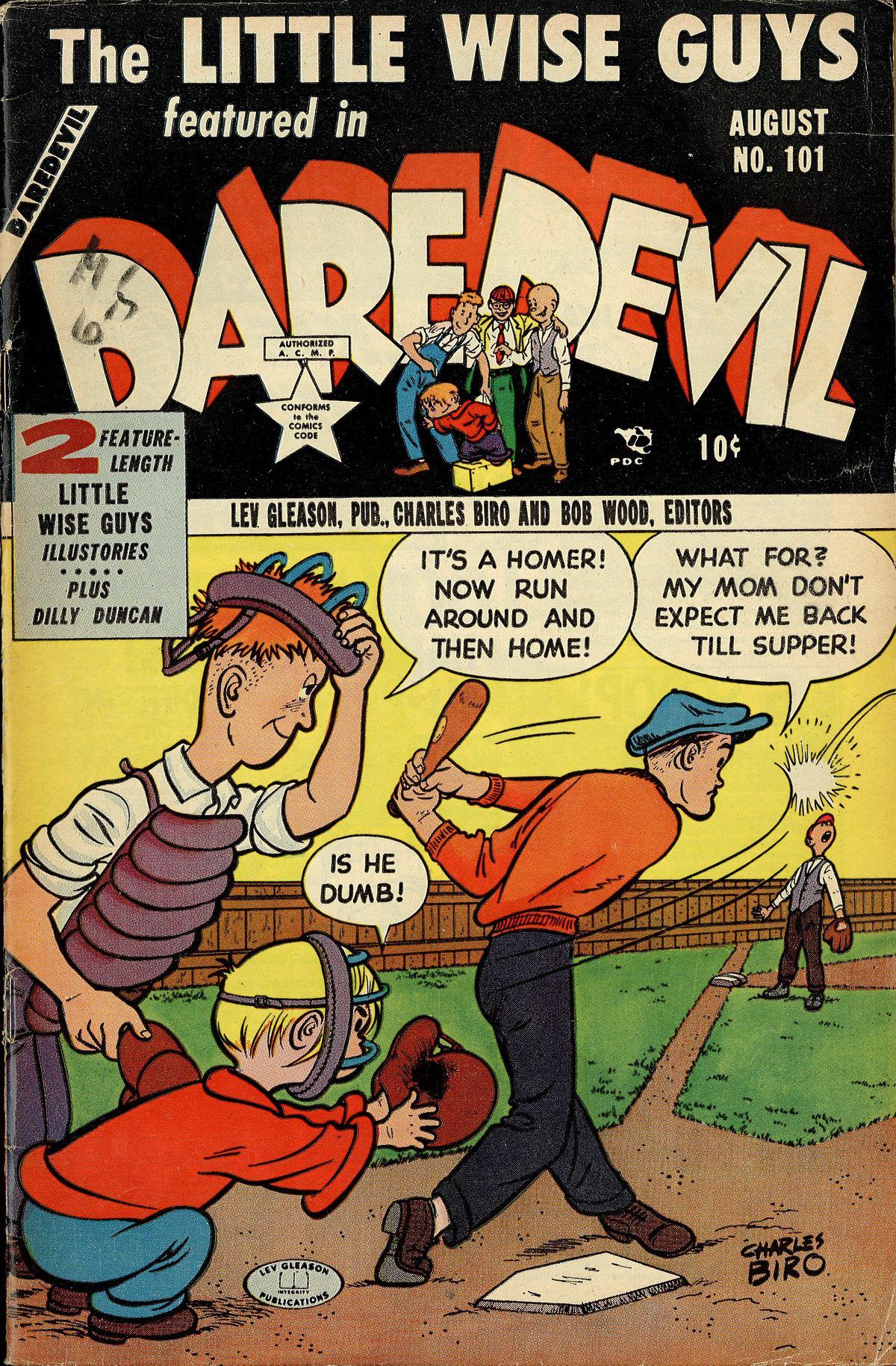 Daredevil (1941) 101 Page 1