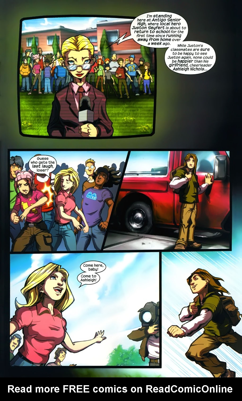 Read online Sentinel (2006) comic -  Issue #5 - 20