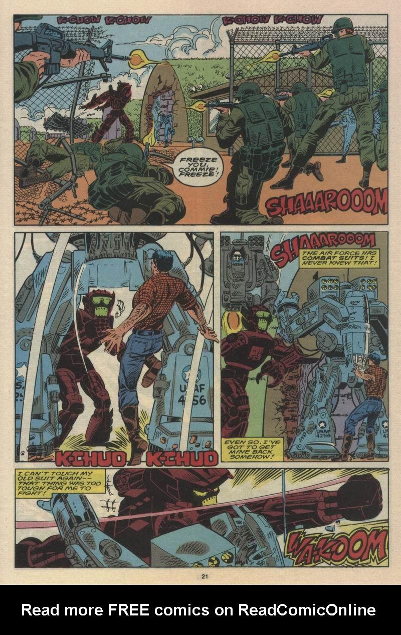 Read online Alpha Flight (1983) comic -  Issue #63 - 23