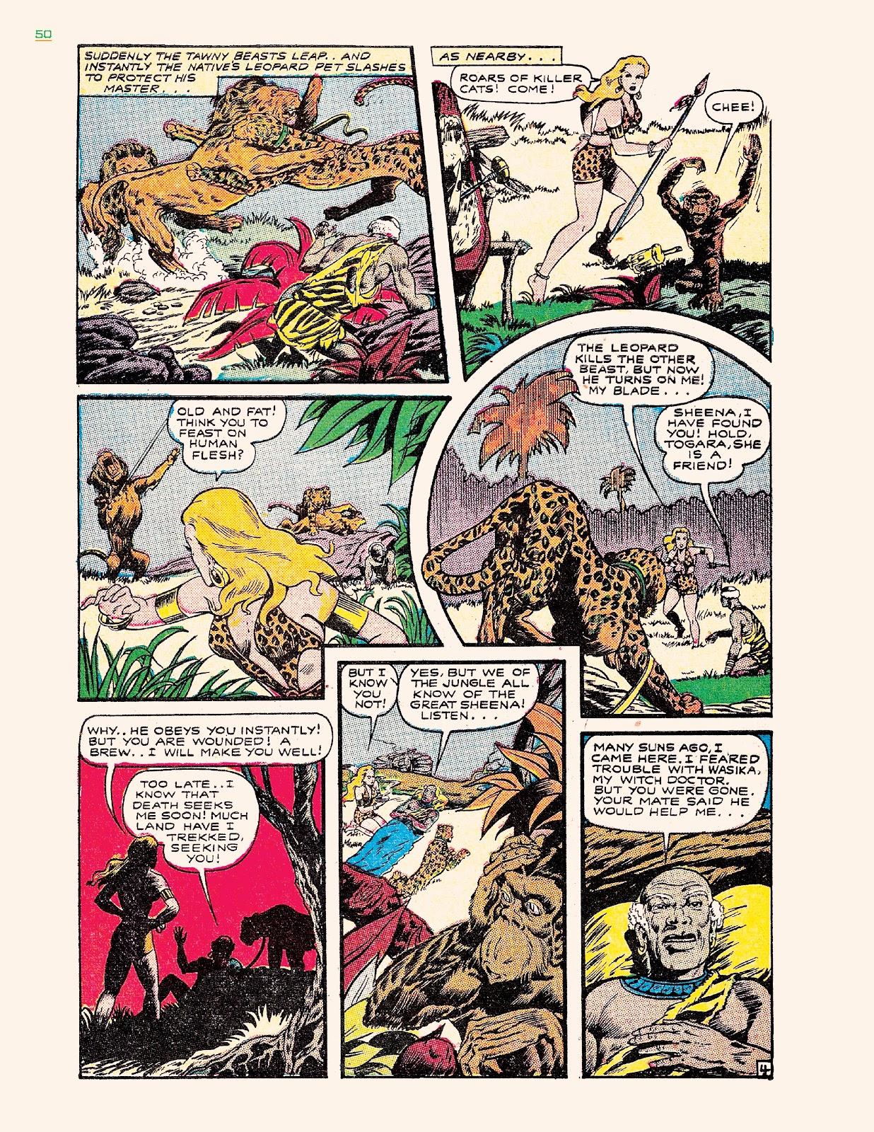 Read online Jungle Girls comic -  Issue # TPB (Part 1) - 50