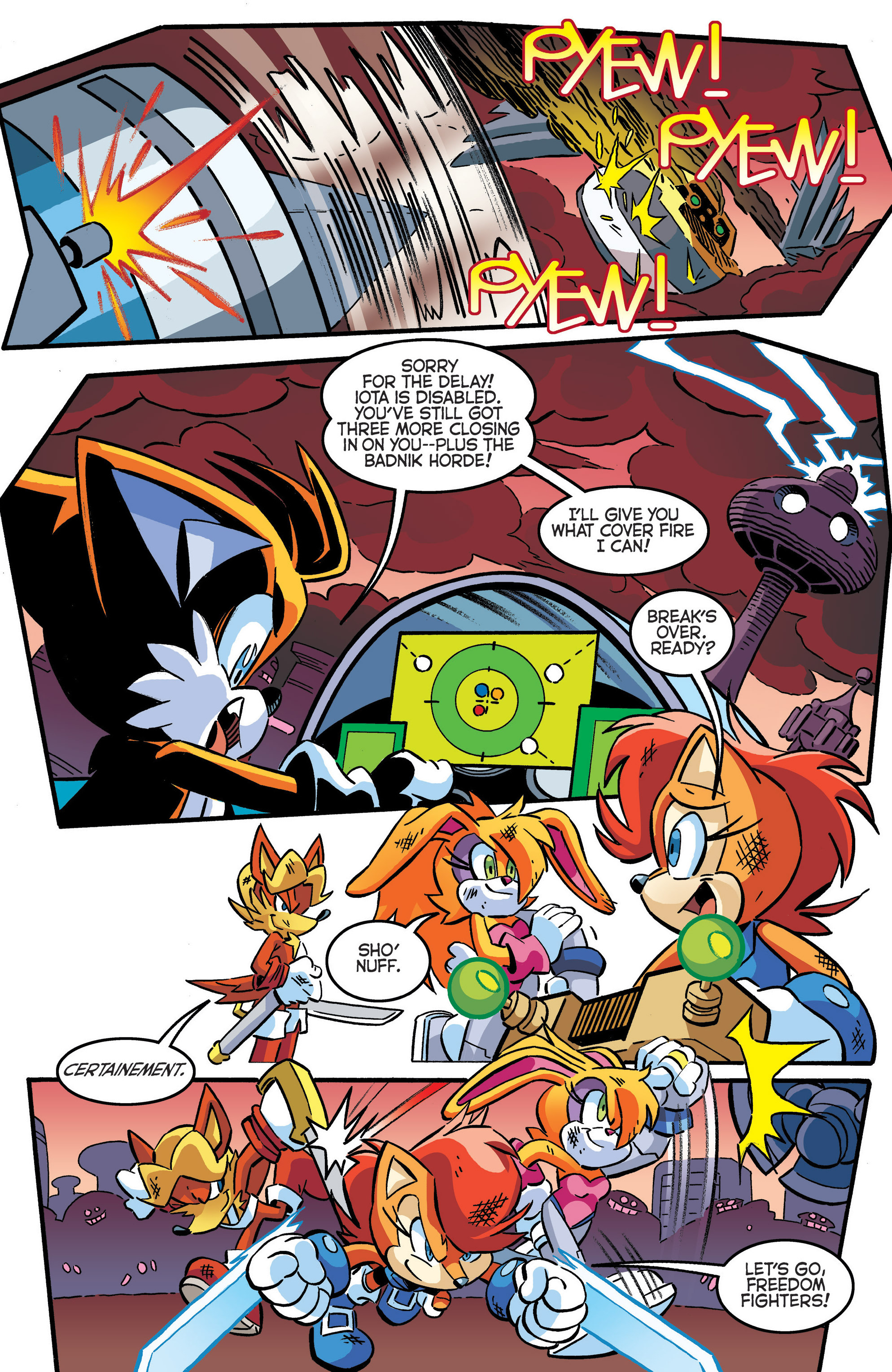 Read online Sonic The Hedgehog comic -  Issue #286 - 8