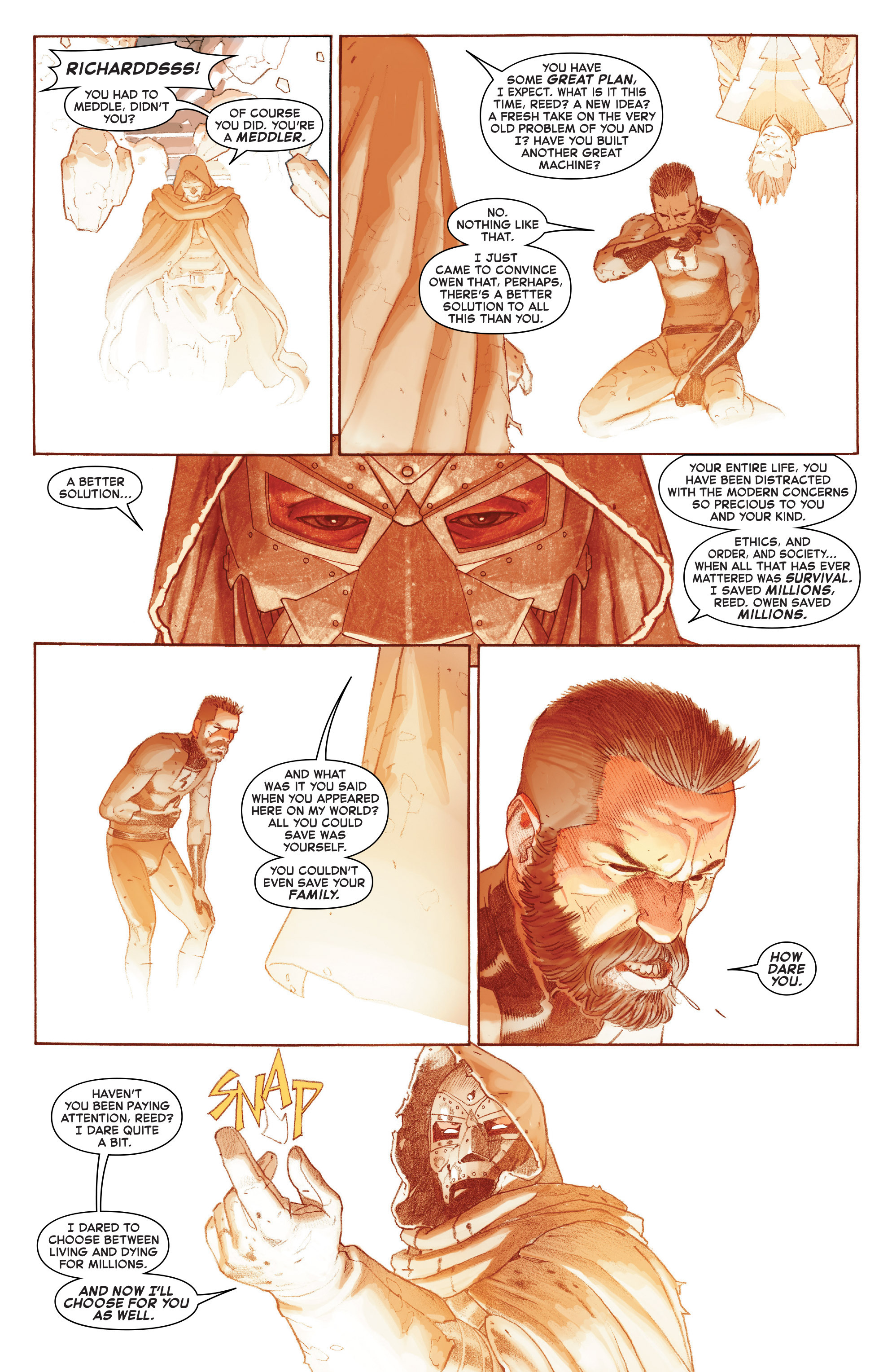 Read online Secret Wars comic -  Issue #9 - 16