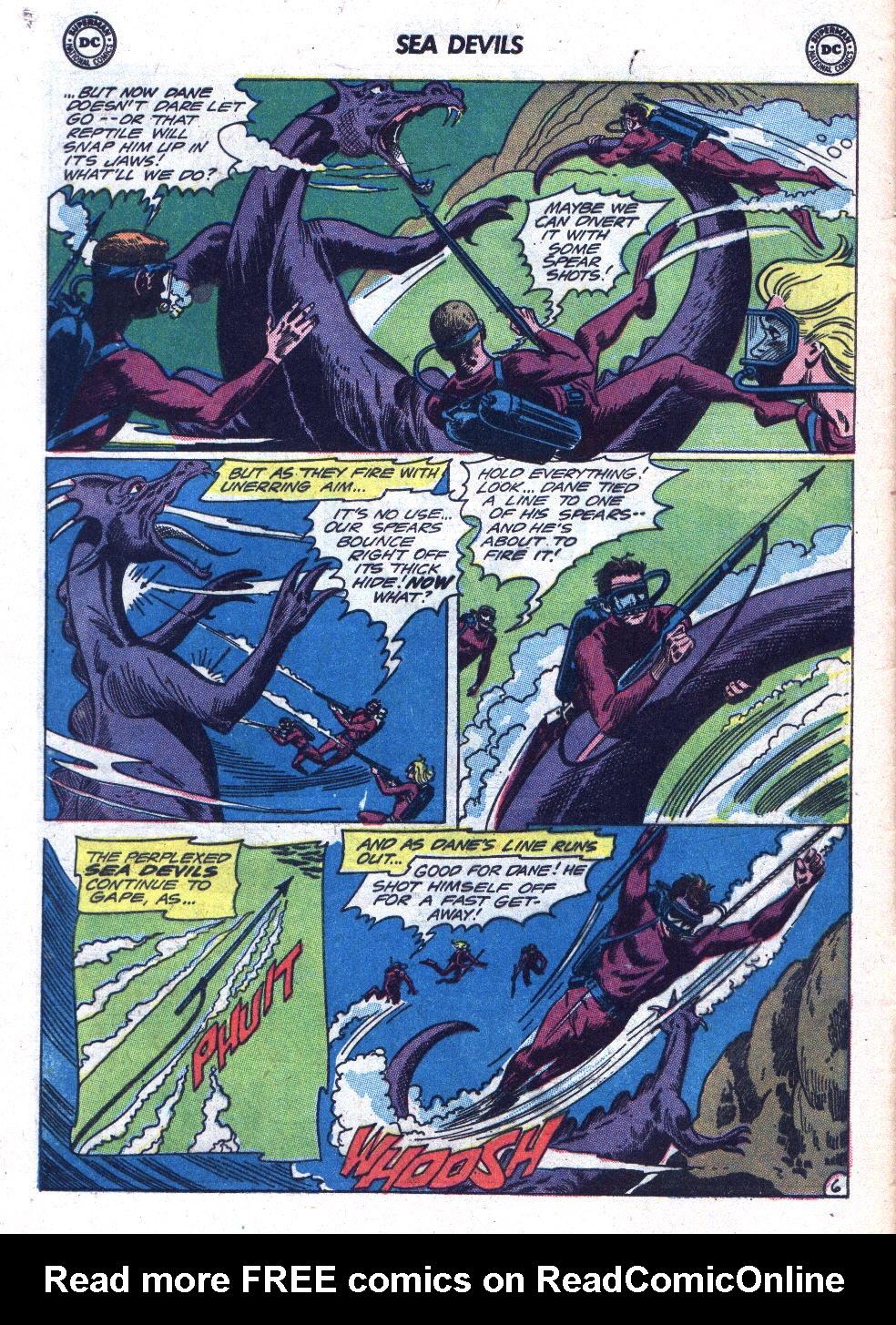 Read online Sea Devils comic -  Issue #18 - 8
