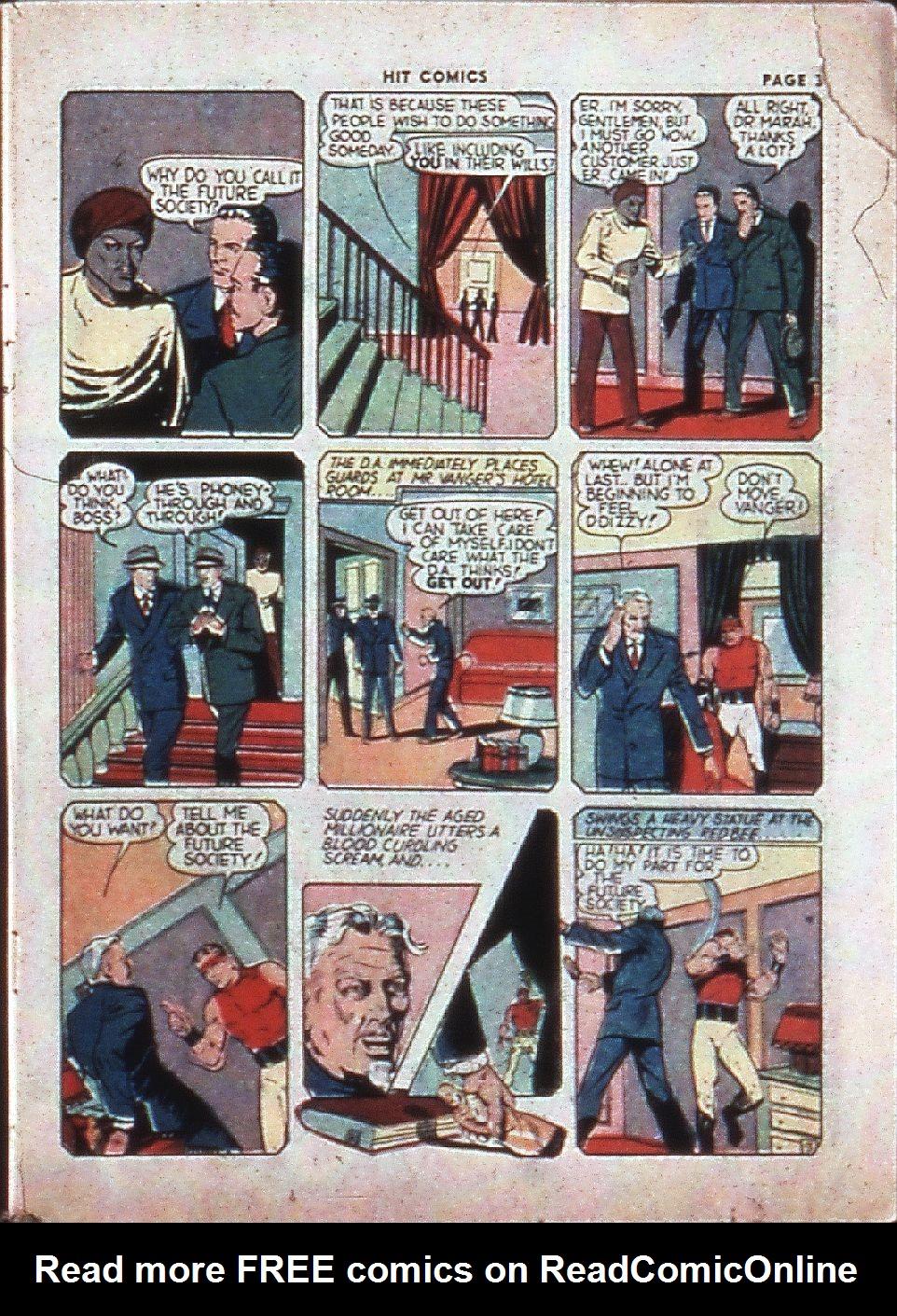 Read online Hit Comics comic -  Issue #4 - 5