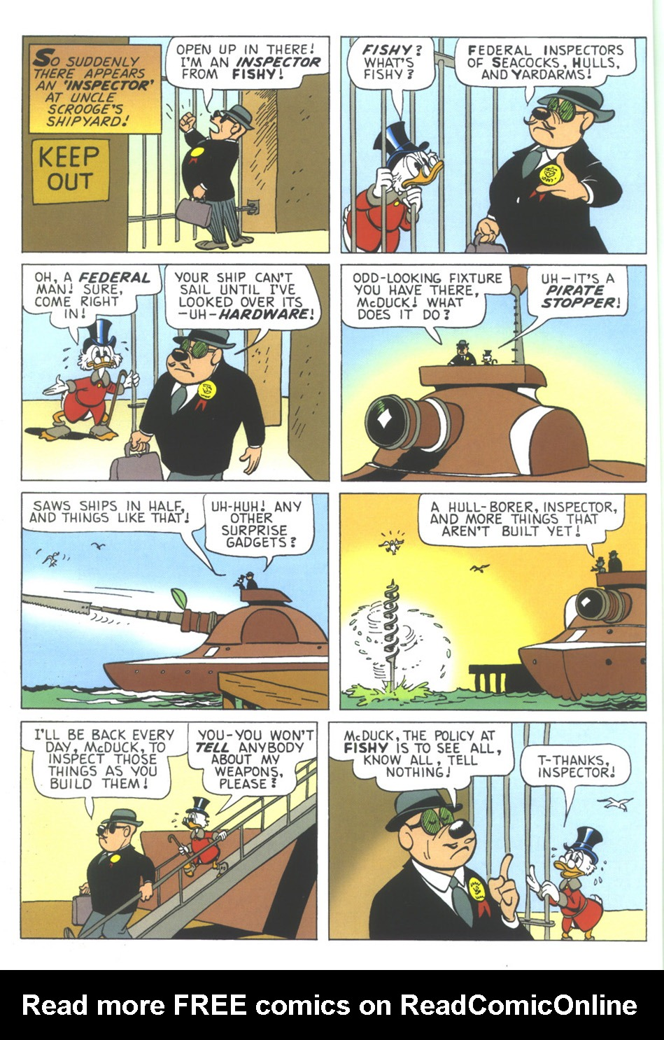 Read online Uncle Scrooge (1953) comic -  Issue #349 - 8