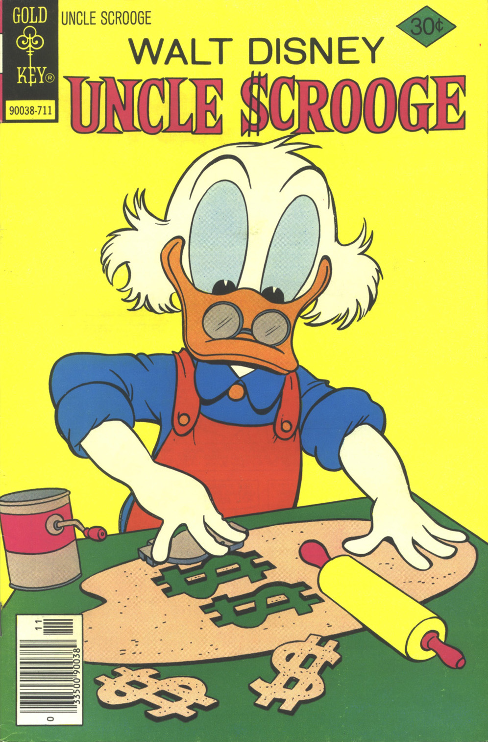 Read online Uncle Scrooge (1953) comic -  Issue #146 - 1