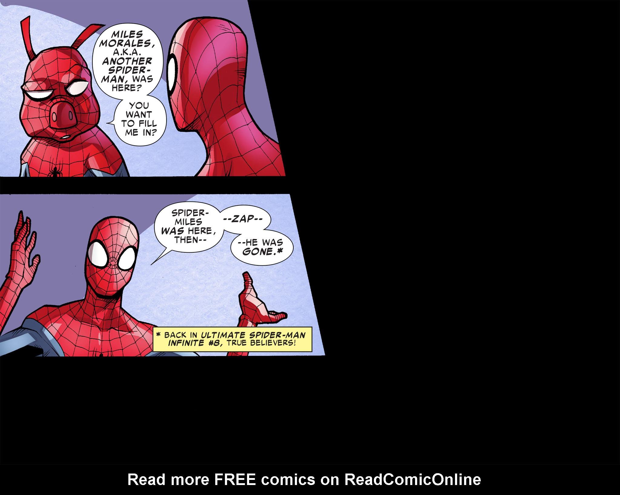 Read online Ultimate Spider-Man (Infinite Comics) (2016) comic -  Issue #9 - 18