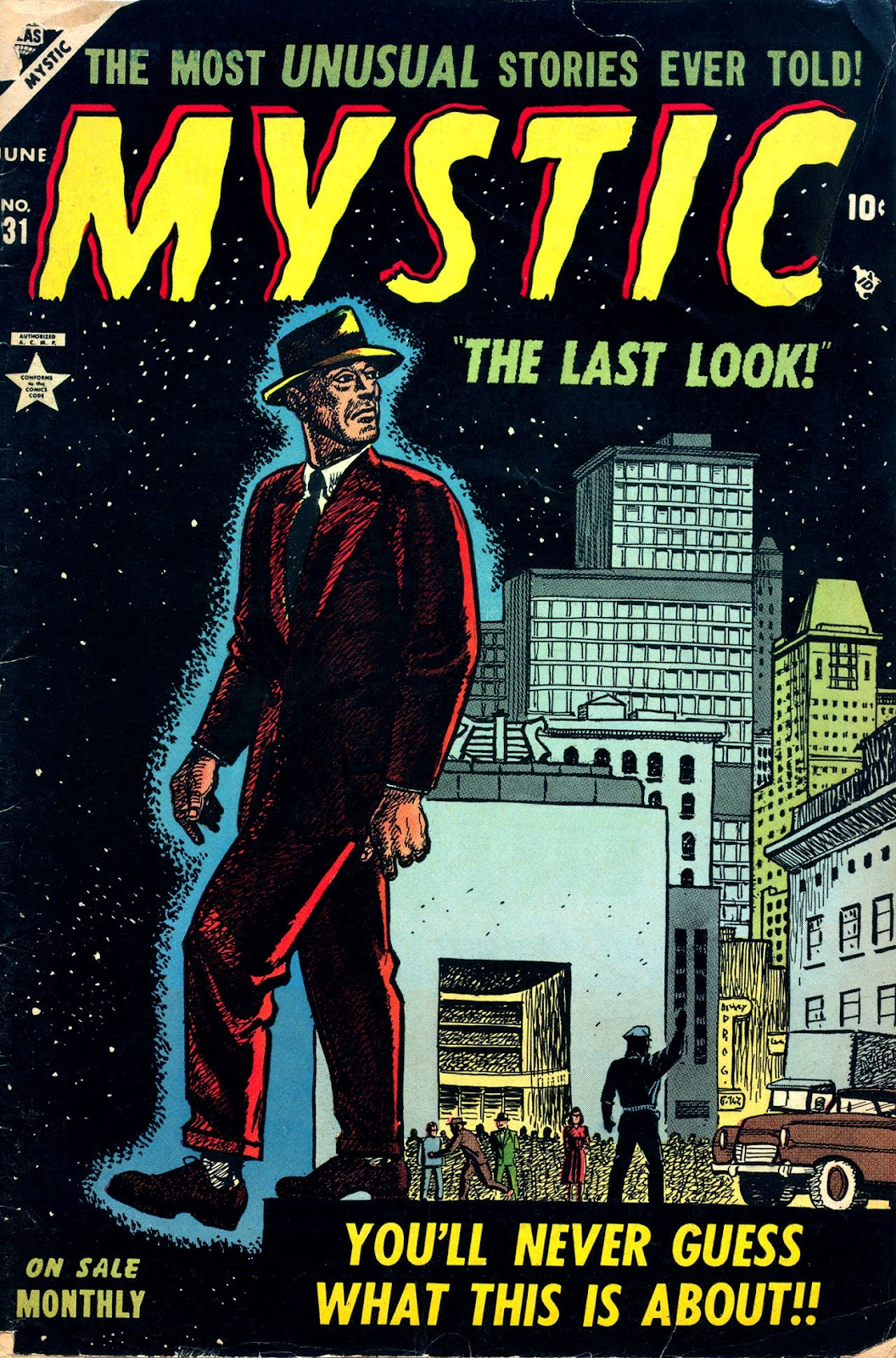 Mystic (1951) issue 31 - Page 1