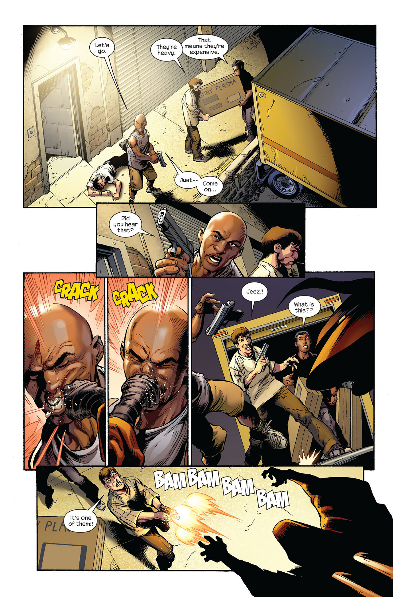 Read online Ultimate Fallout comic -  Issue #1 - 7