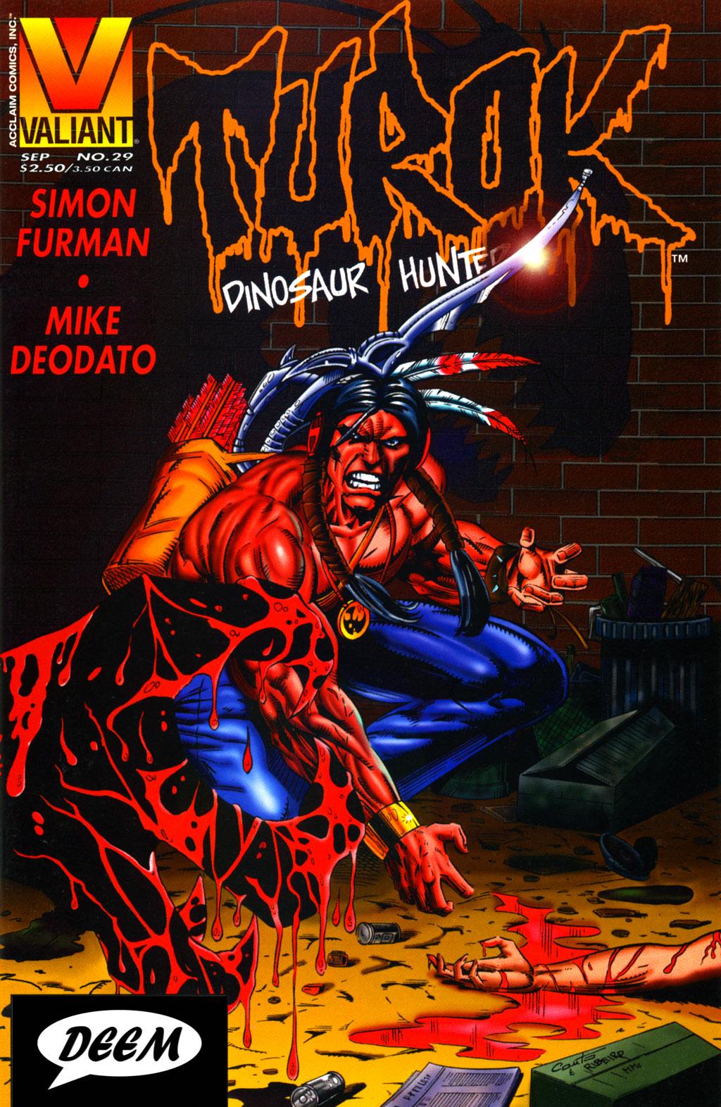 Read online Turok, Dinosaur Hunter (1993) comic -  Issue #29 - 1