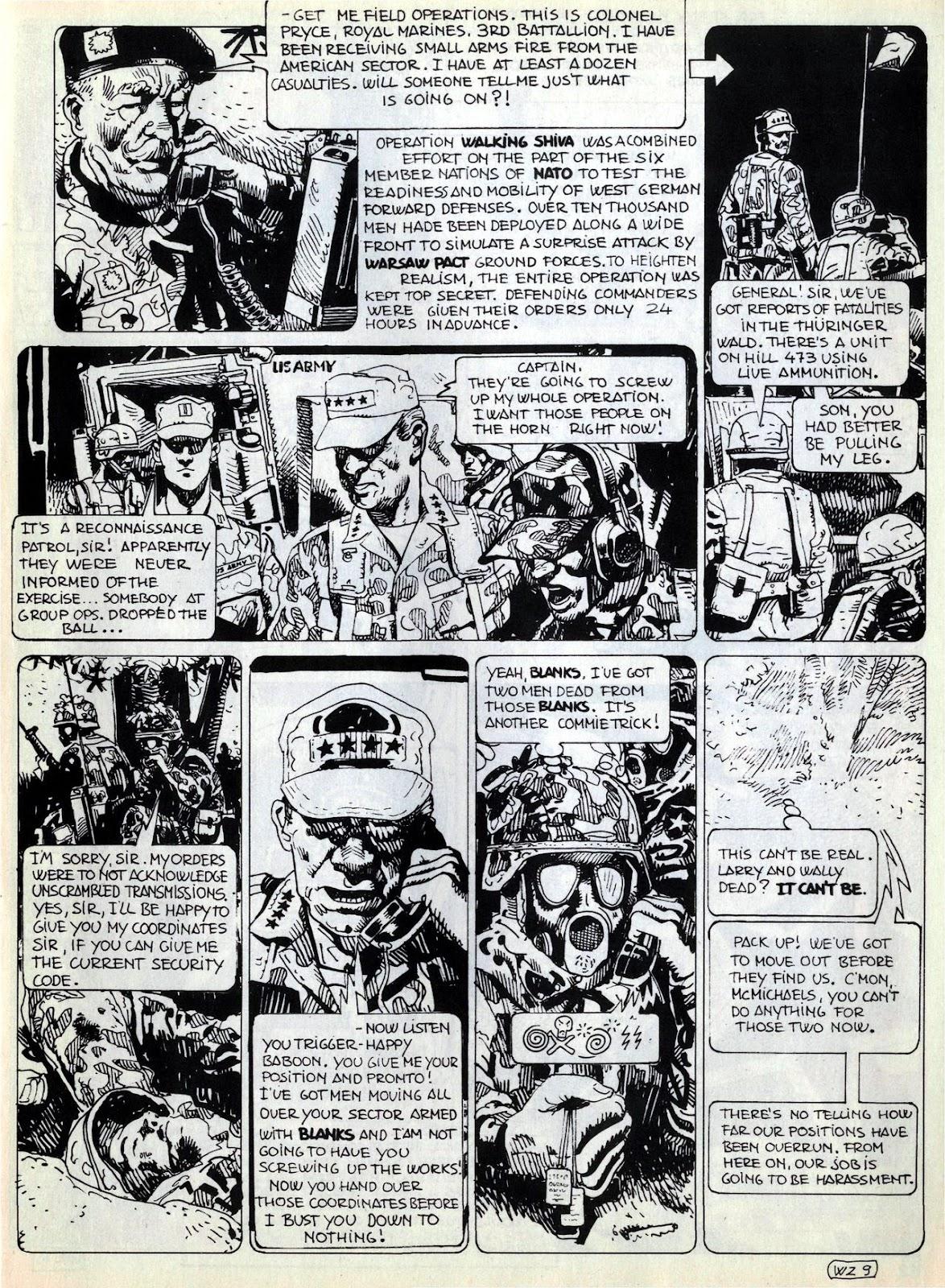 Comic Savage Tales (1985) issue 6