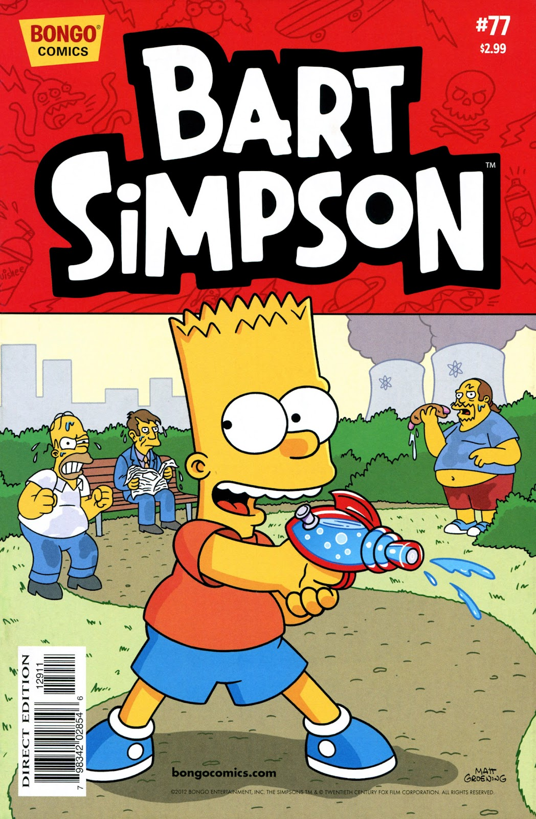 Simpsons Comics Presents Bart Simpson 77 Page 1