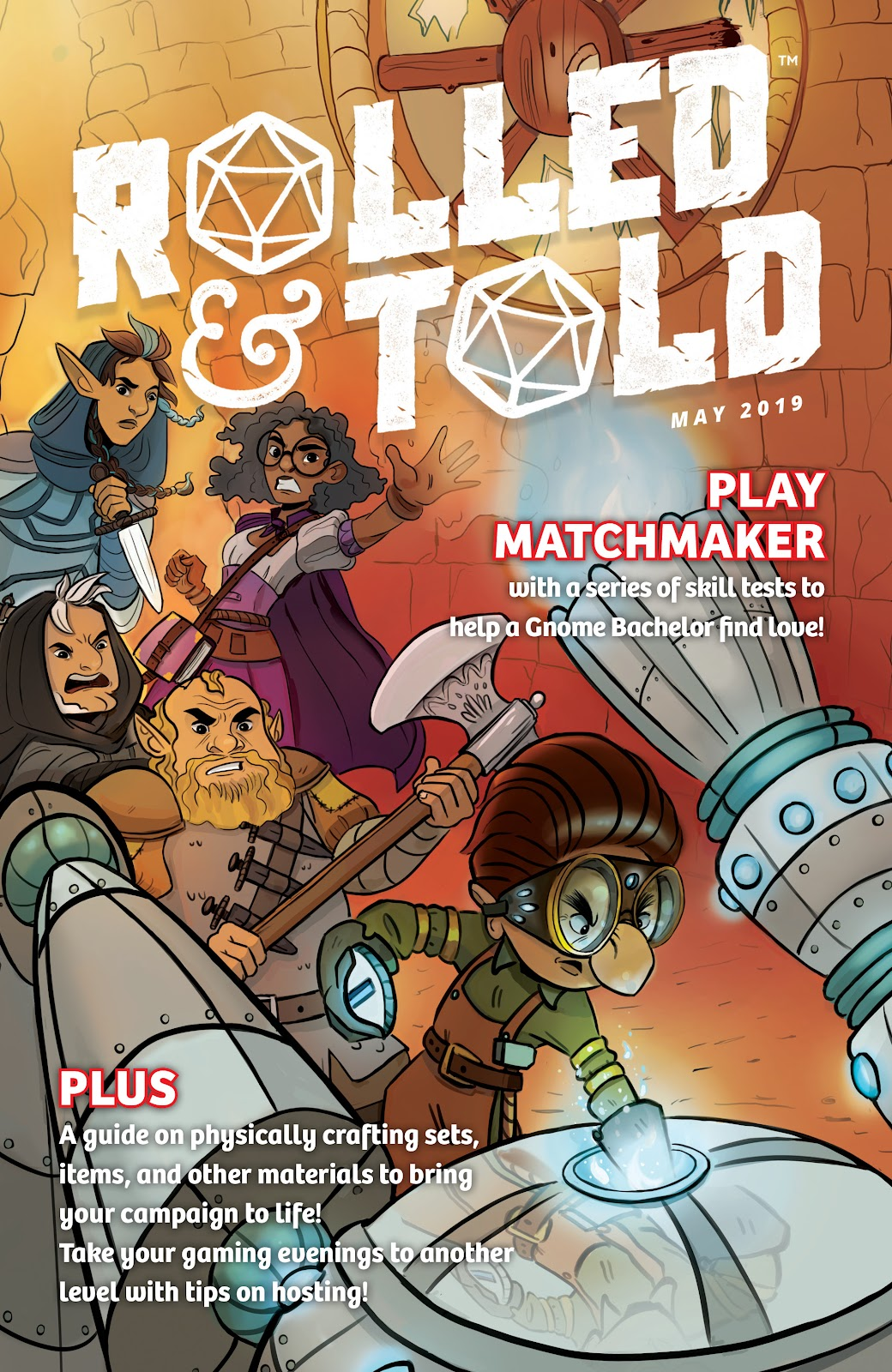 Read online Rolled & Told comic -  Issue #9 - 1