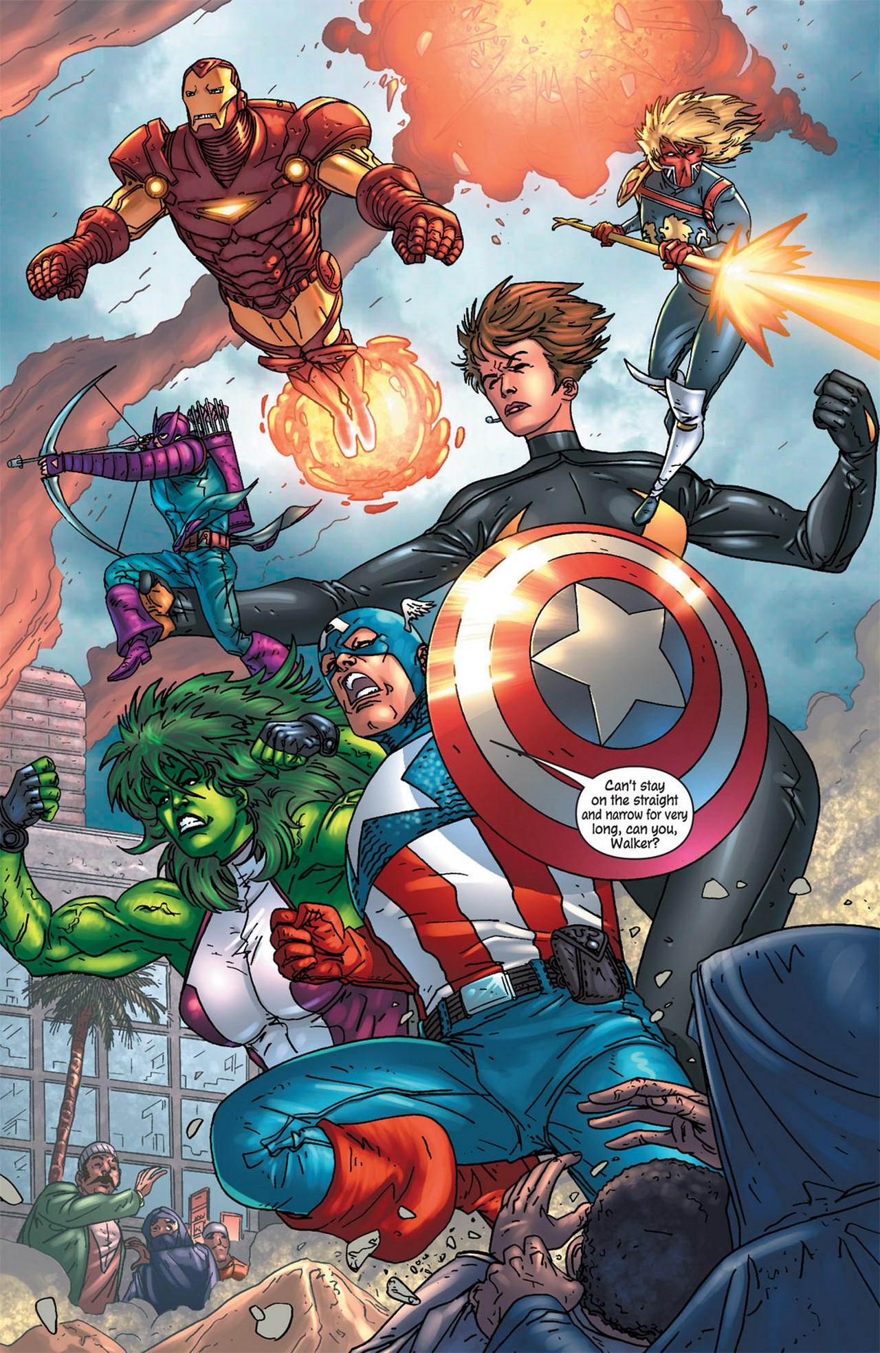 Read online Avengers (1998) comic -  Issue #84 - 14