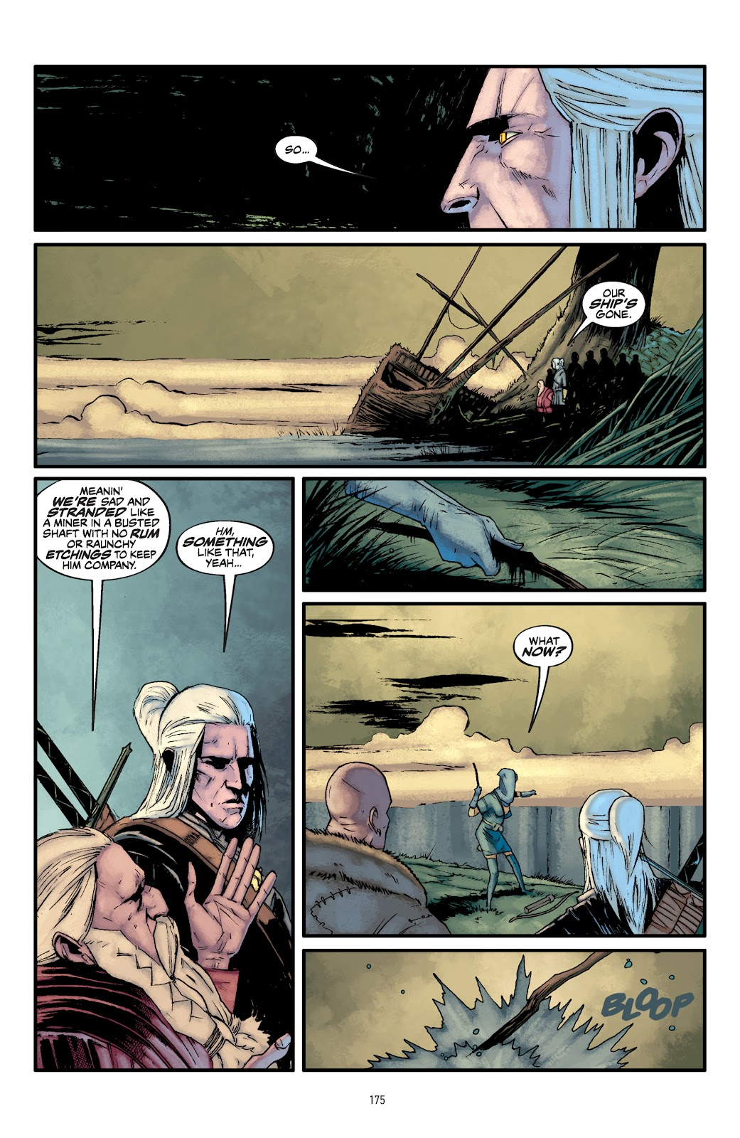 Read online The Witcher Omnibus comic -  Issue # TPB (Part 2) - 75