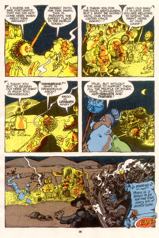 Read online Sergio Aragonés Groo the Wanderer comic -  Issue #76 - 23