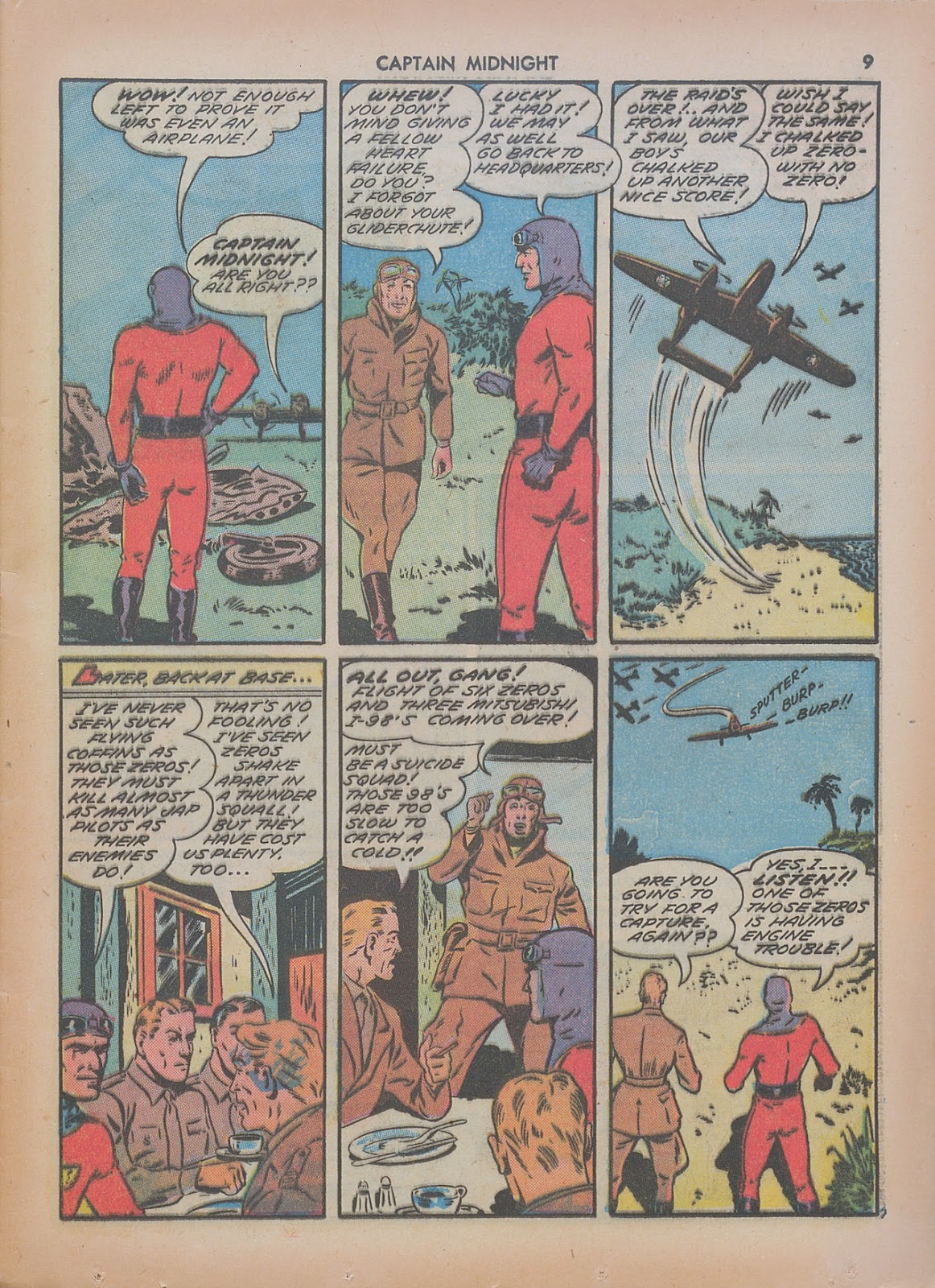 Captain Midnight (1942) issue 7 - Page 9