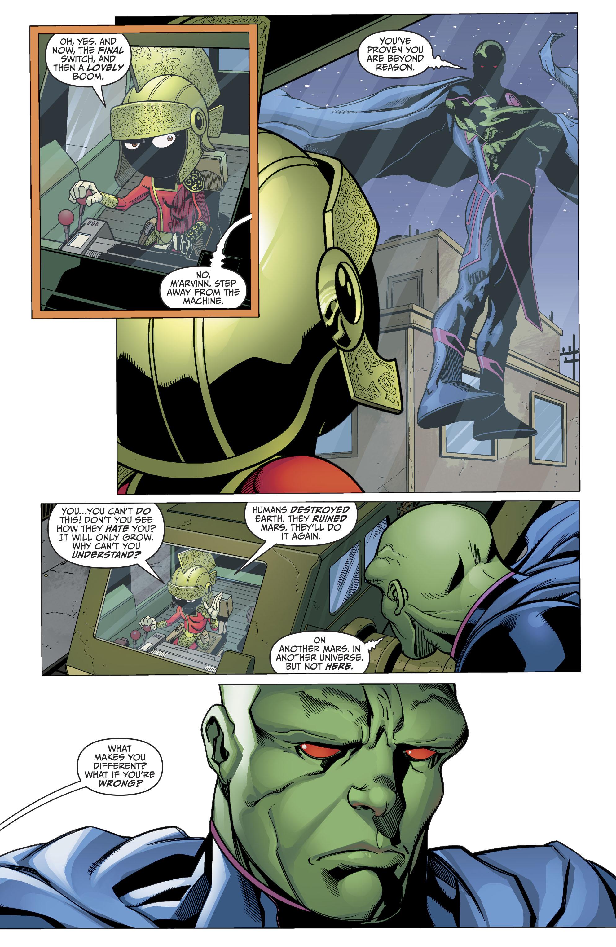 Read online Martian Manhunter/Marvin the Martian Special comic -  Issue # Full - 26