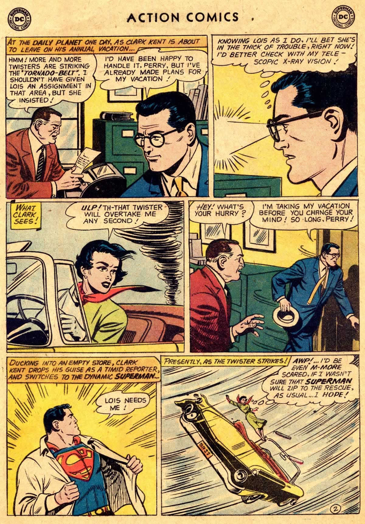 Action Comics (1938) 260 Page 2