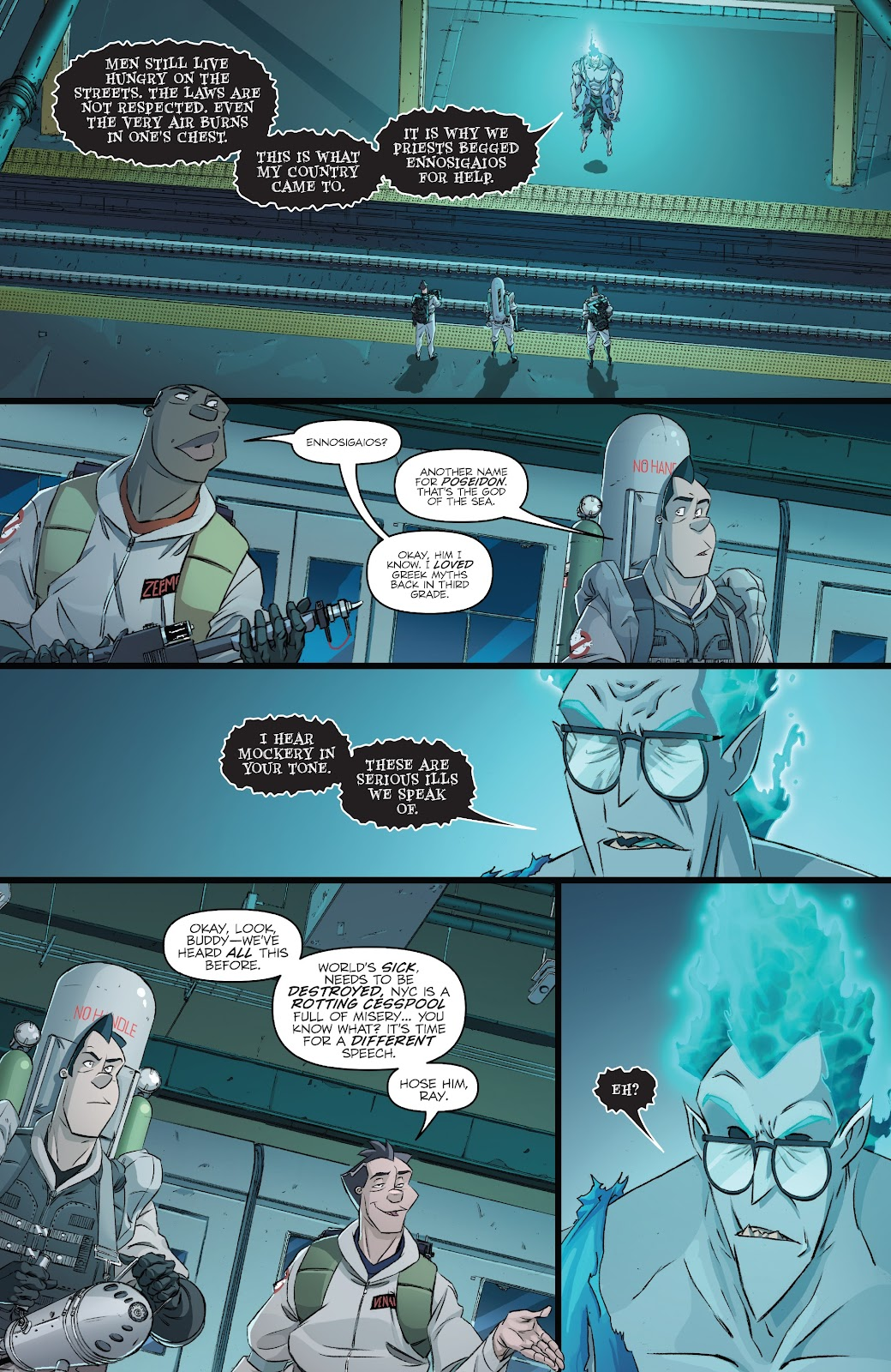 Read online Ghostbusters 35th Anniversary: Ghostbusters comic -  Issue # Full - 15