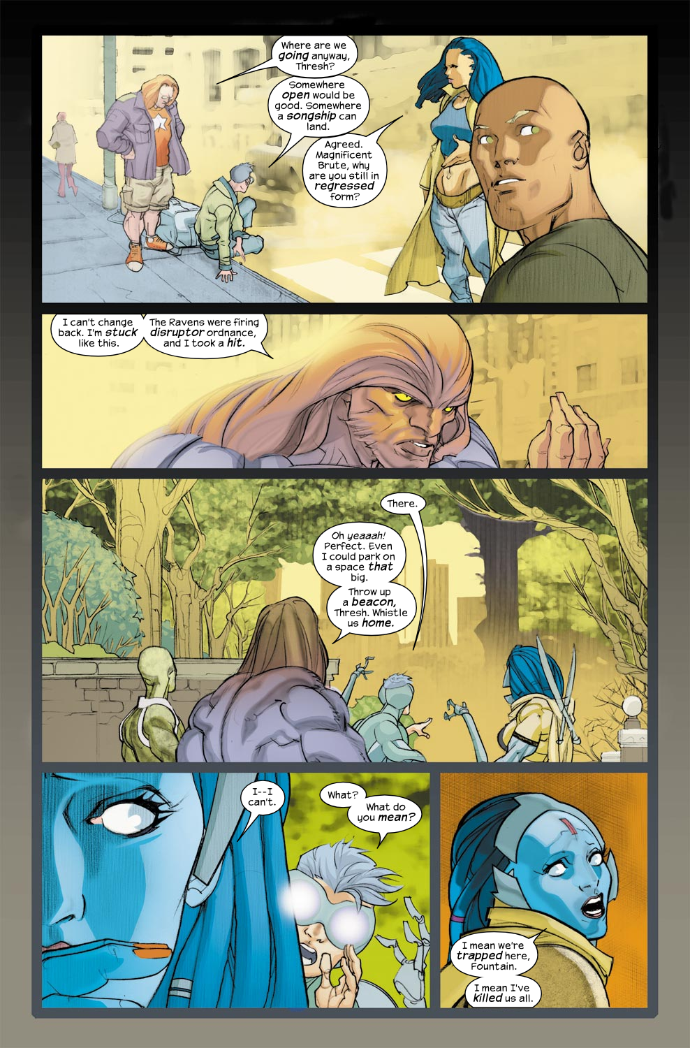 Read online Ultimate Fantastic Four (2004) comic -  Issue #33 - 11