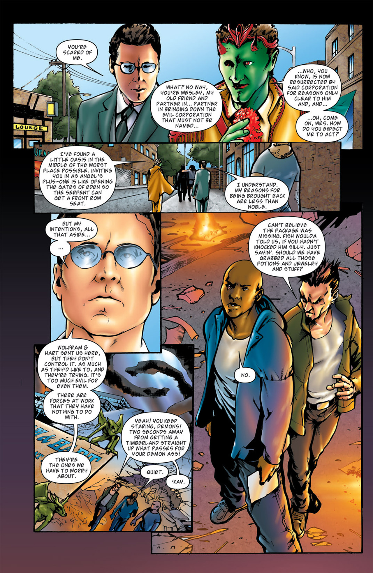 Read online Angel: After The Fall comic -  Issue #4 - 22