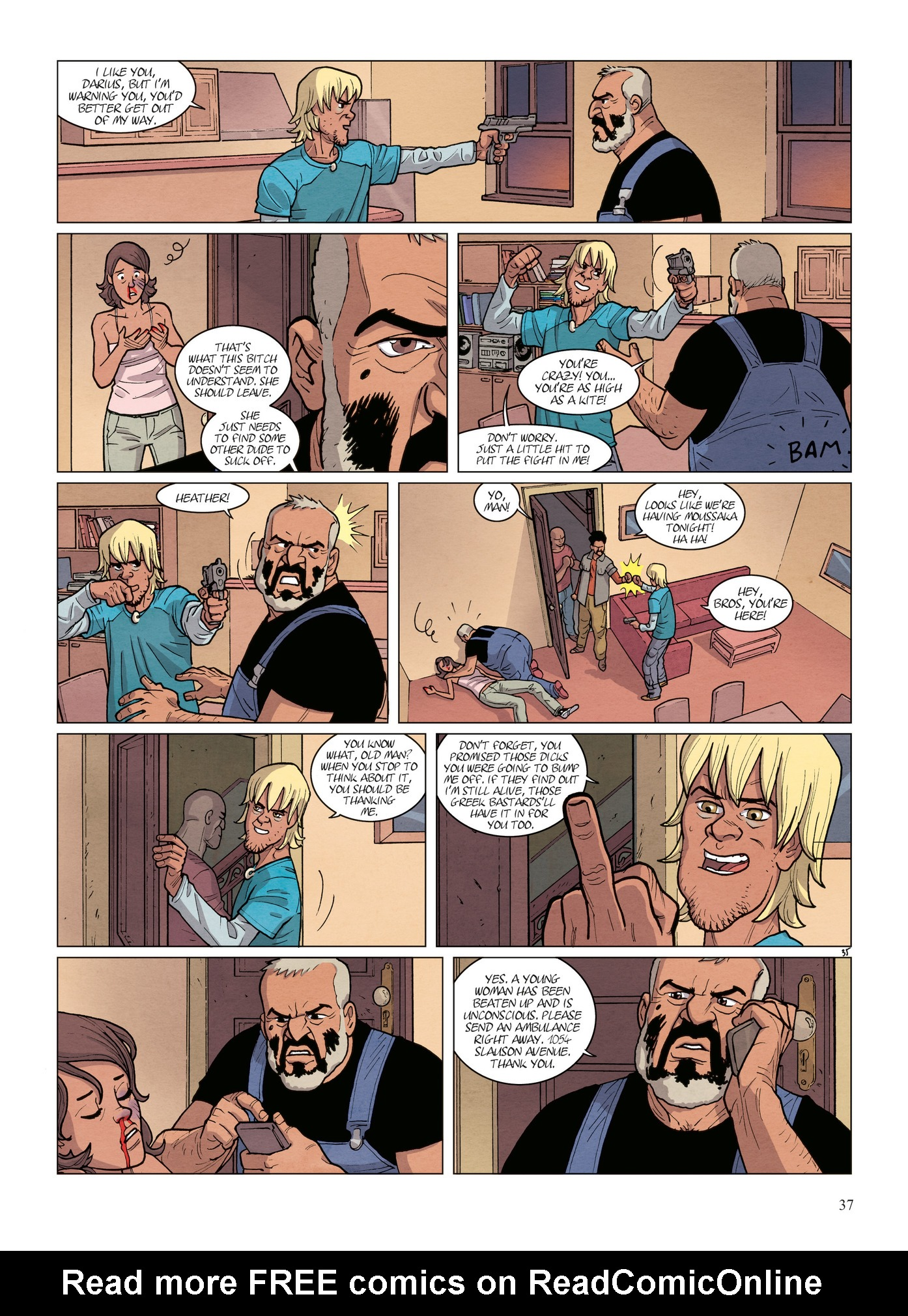 Read online Alter Ego comic -  Issue #6 - 39