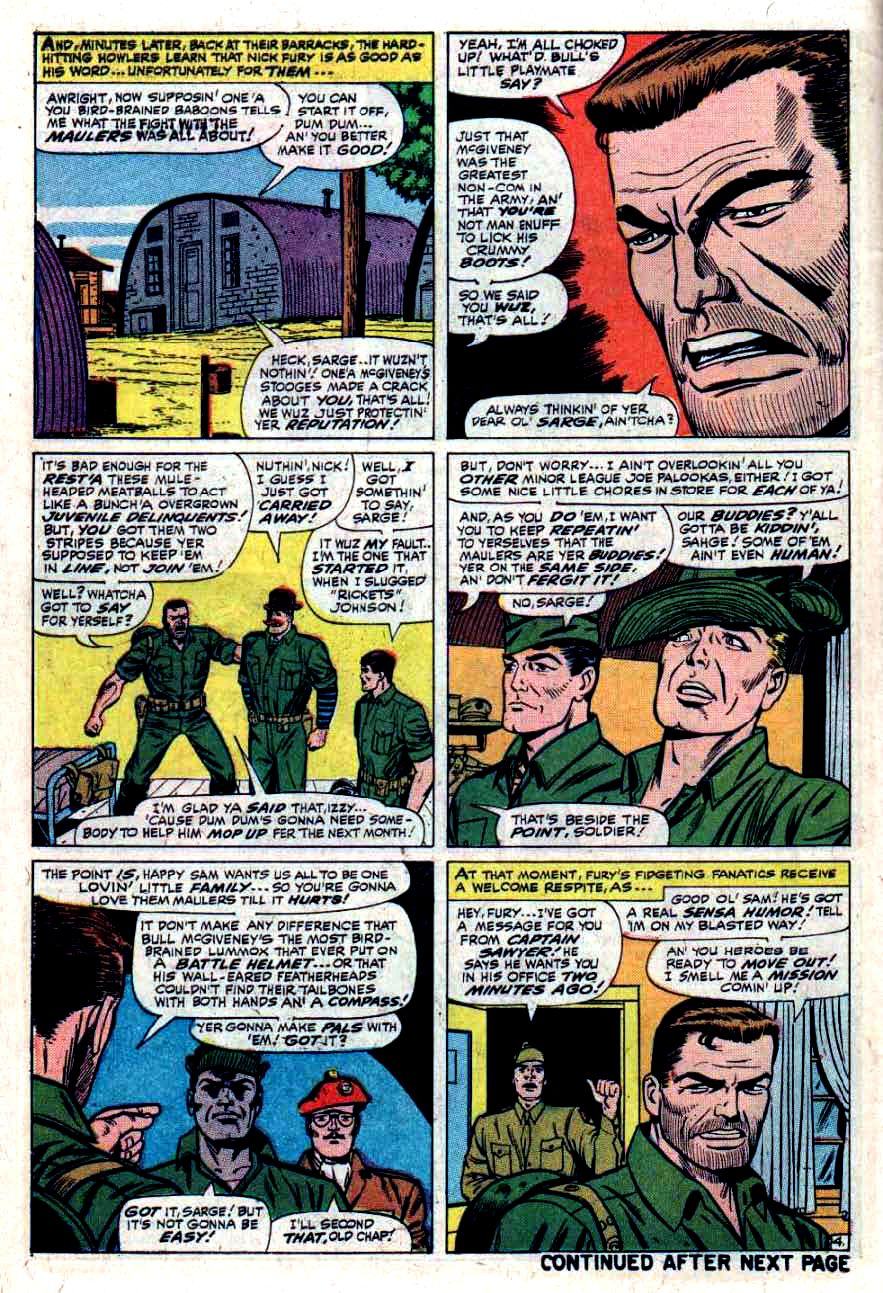 Read online Sgt. Fury comic -  Issue #33 - 6