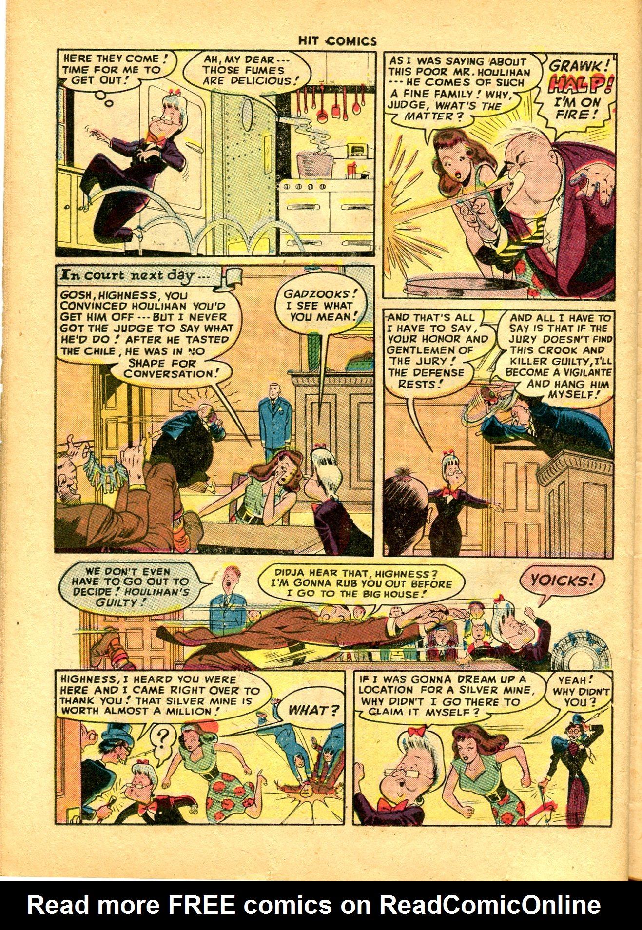 Read online Hit Comics comic -  Issue #49 - 36