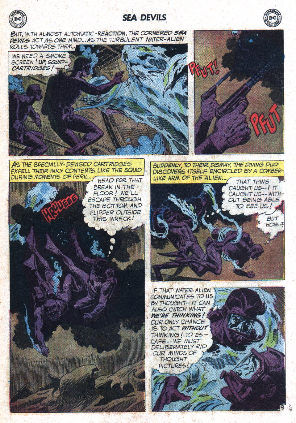Read online Sea Devils comic -  Issue #7 - 14
