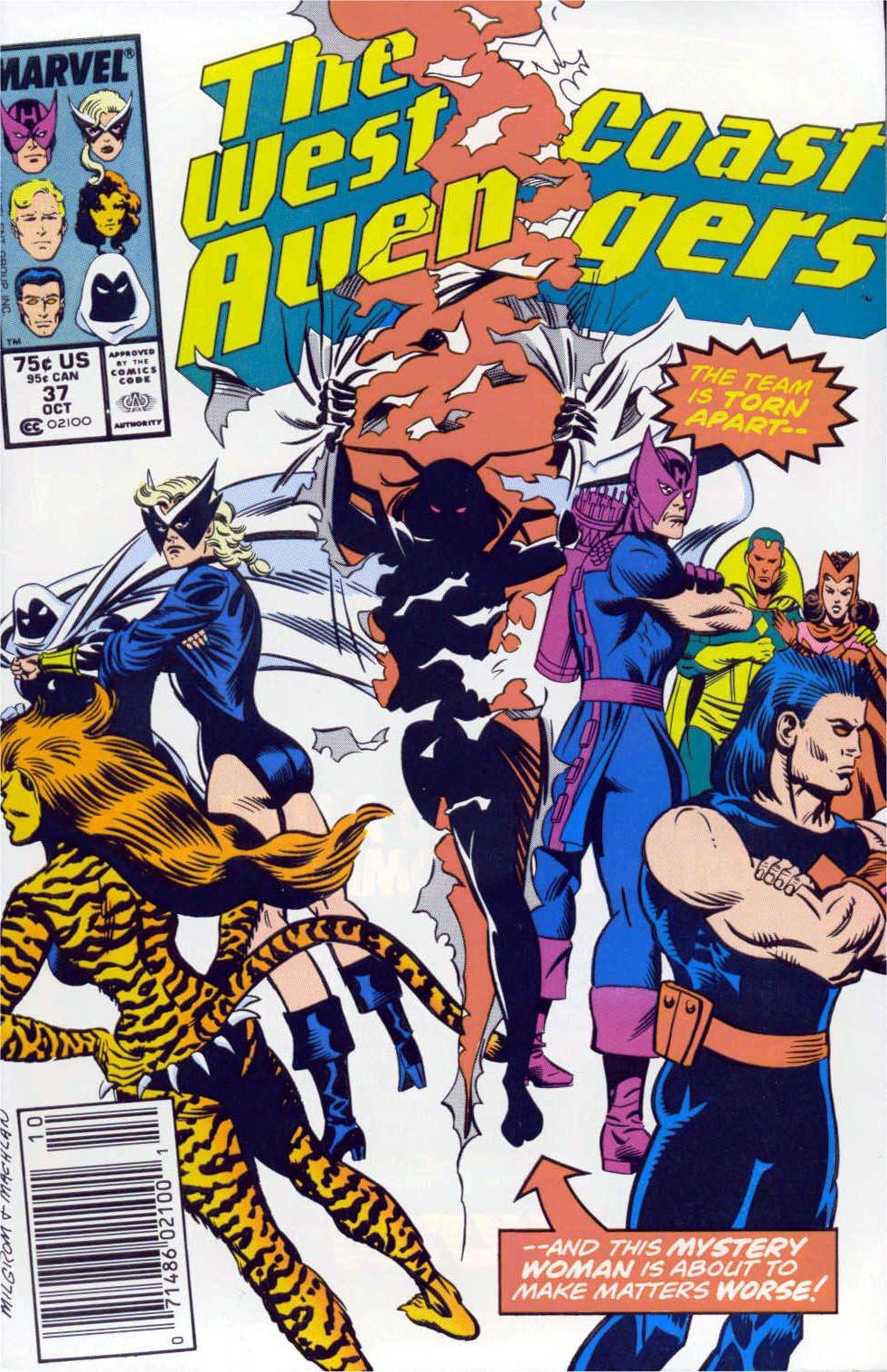 West Coast Avengers (1985) 37 Page 1