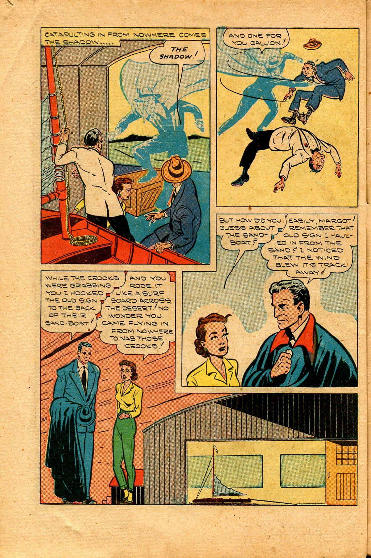 Read online Shadow Comics comic -  Issue #94 - 44