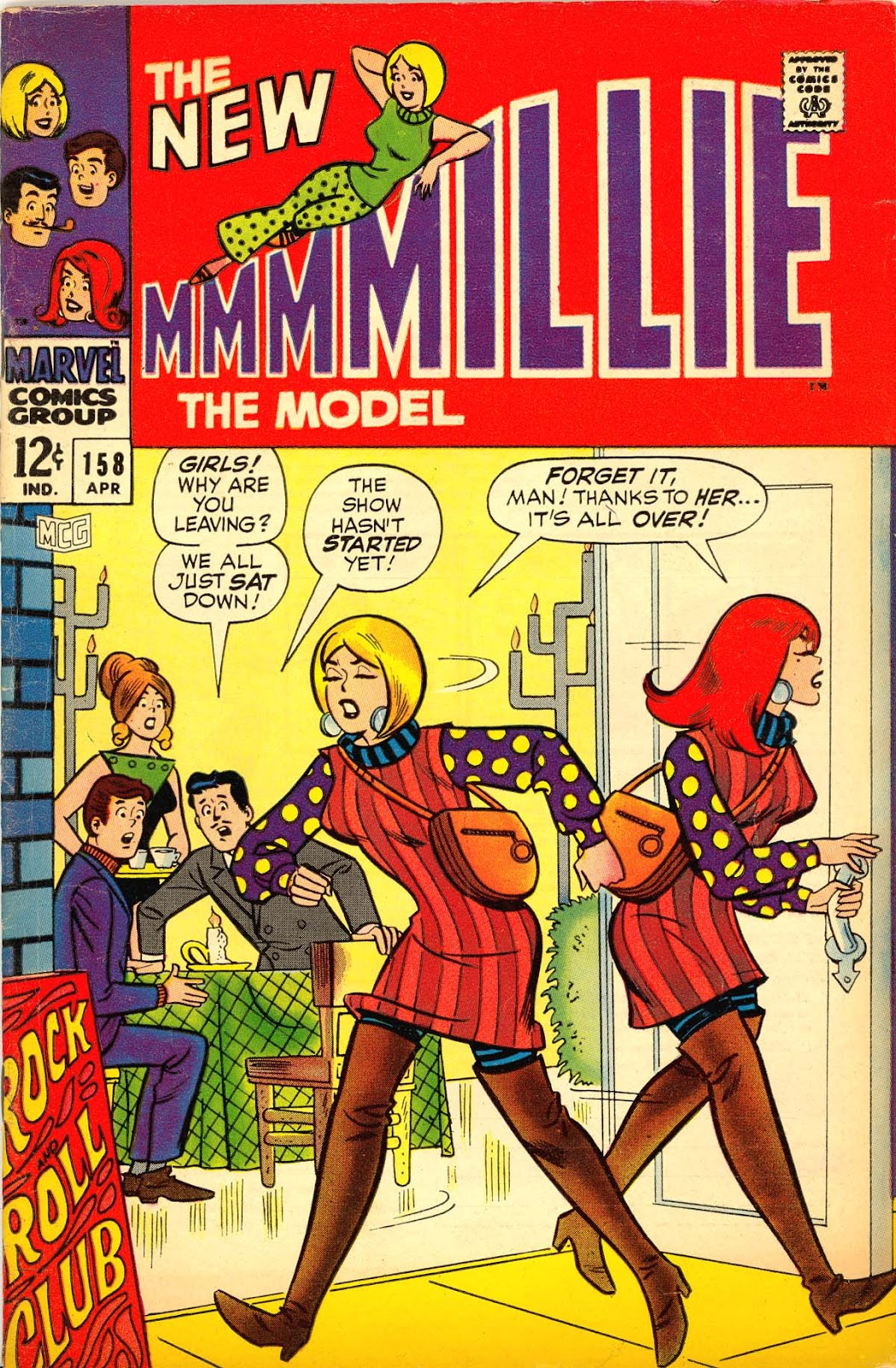Millie the Model issue 158 - Page 1