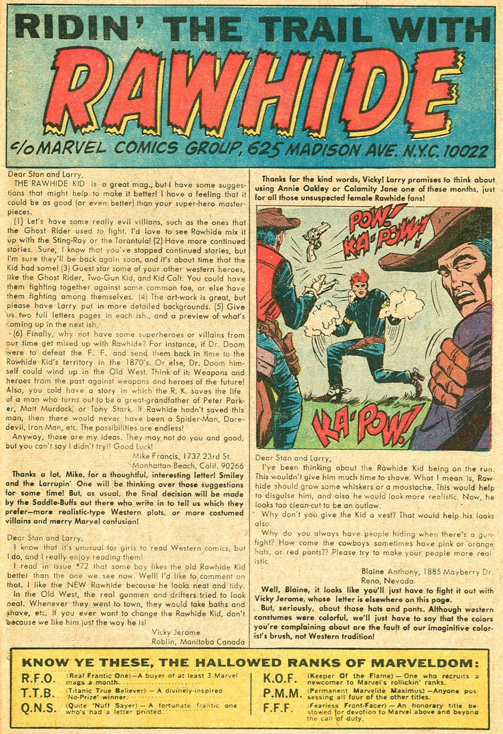 The Rawhide Kid (1955) issue 74 - Page 33