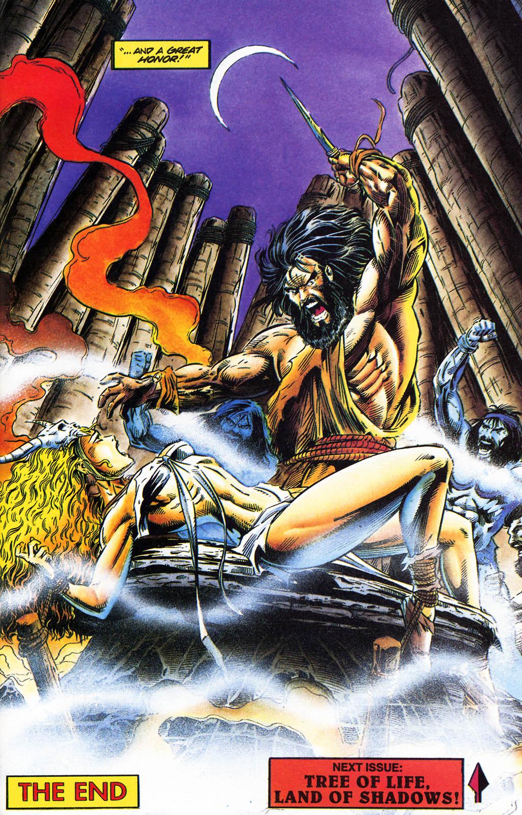 Read online Turok, Dinosaur Hunter (1993) comic -  Issue #35 - 17