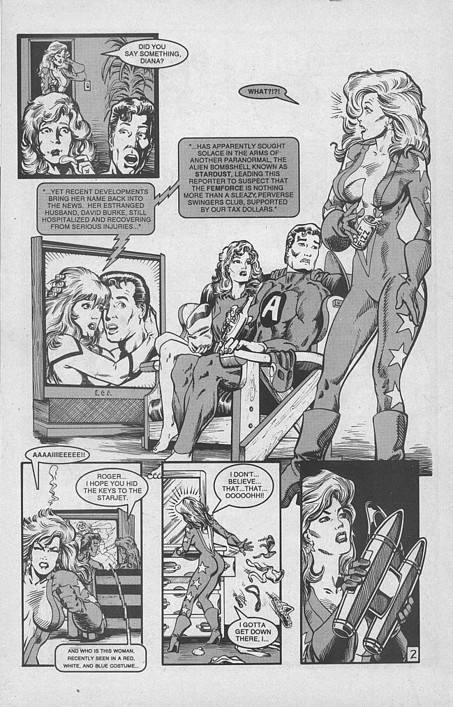 Femforce Issue #53 #53 - English 25