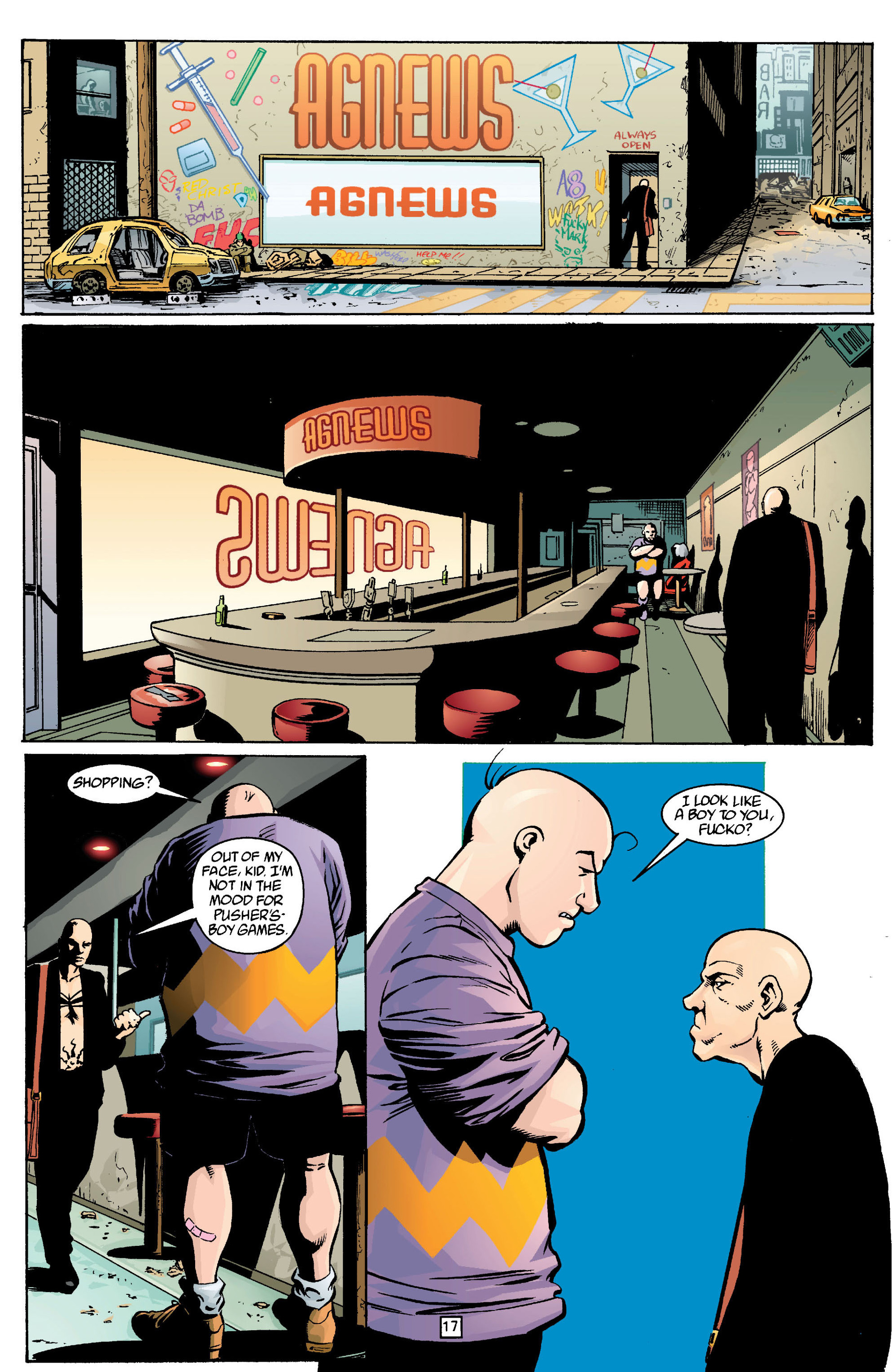 Read online Transmetropolitan comic -  Issue #13 - 18
