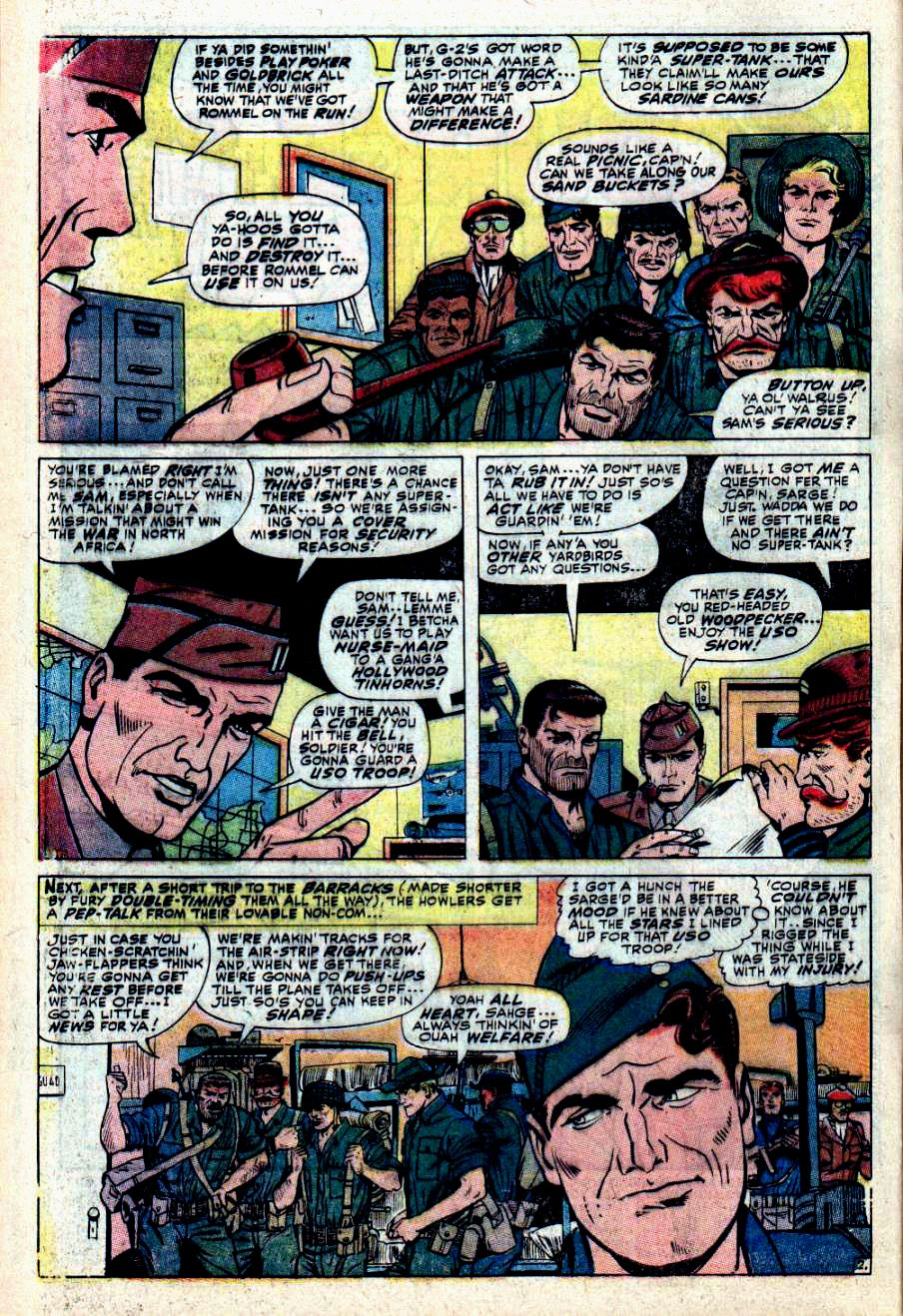 Read online Sgt. Fury comic -  Issue #43 - 4